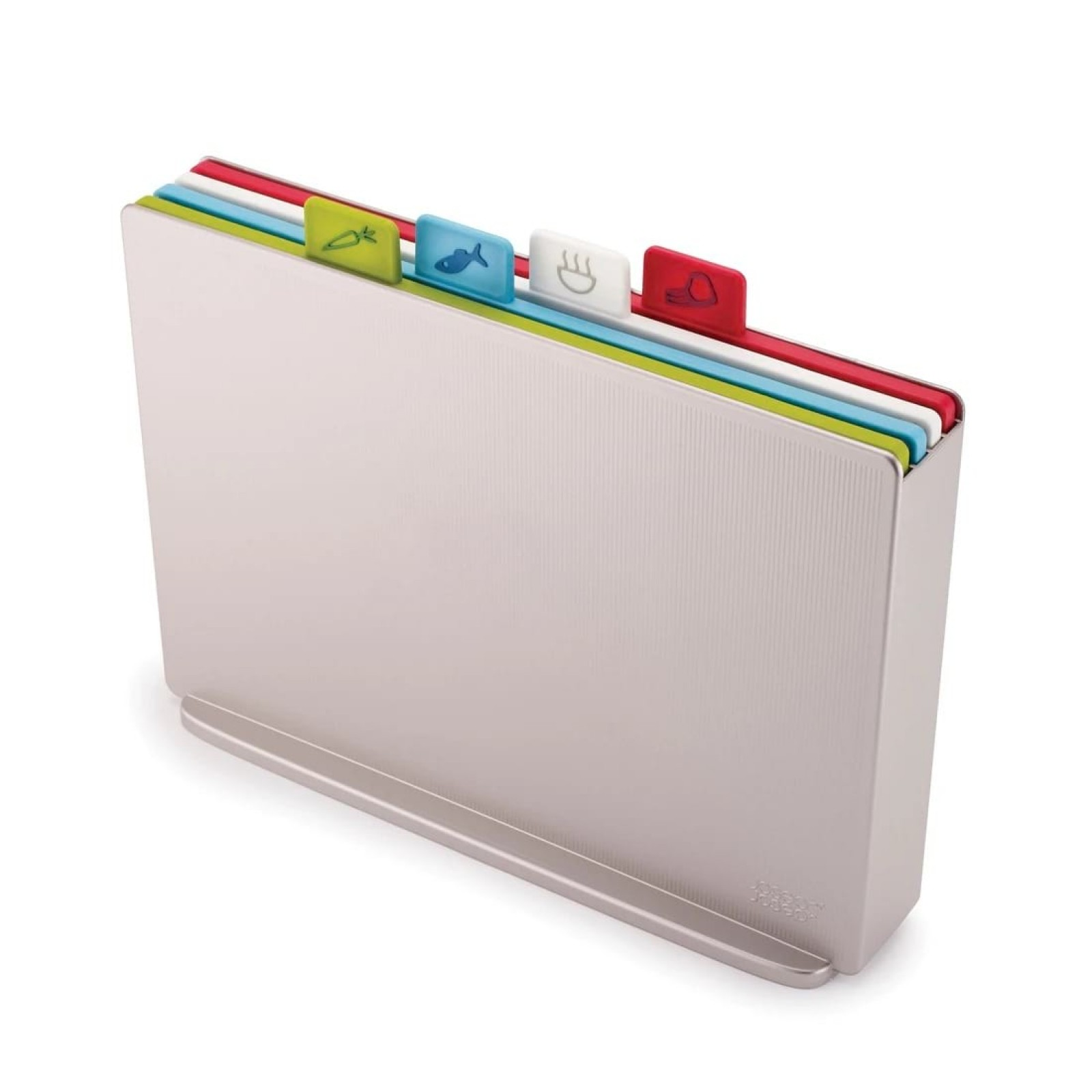 Index™ Chopping Board Set Large (Silver) - Joseph Joseph