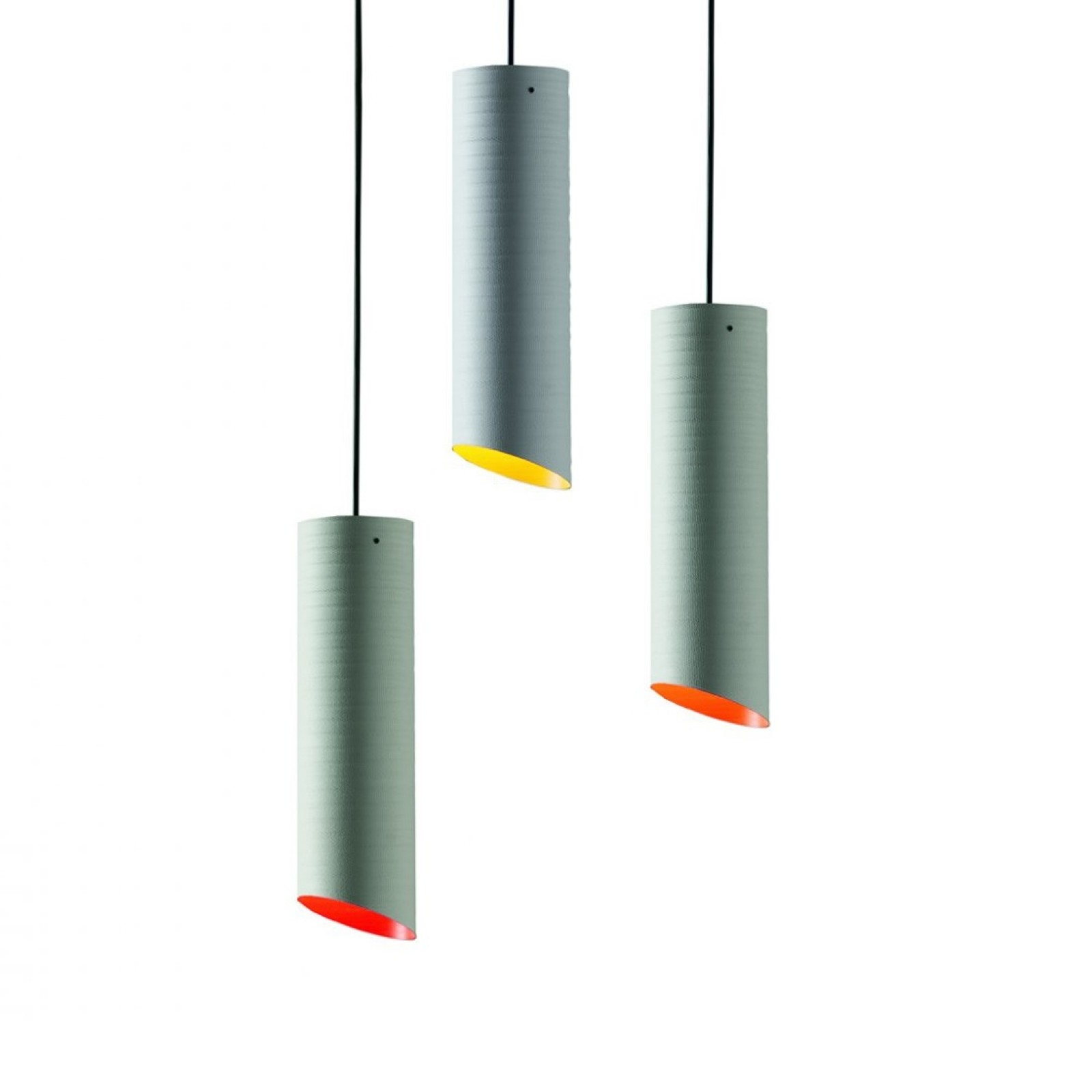 Slice Suspended Ceiling Lamp (Fiberglass) - Karboxx