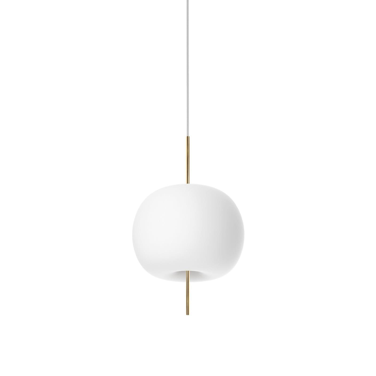 Kushi 16 LED Suspension Lamp (Brass) - Kundalini