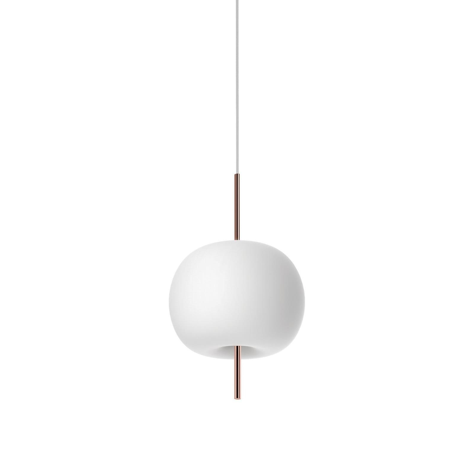 Kushi 16 LED Suspension Lamp (Copper) - Kundalini