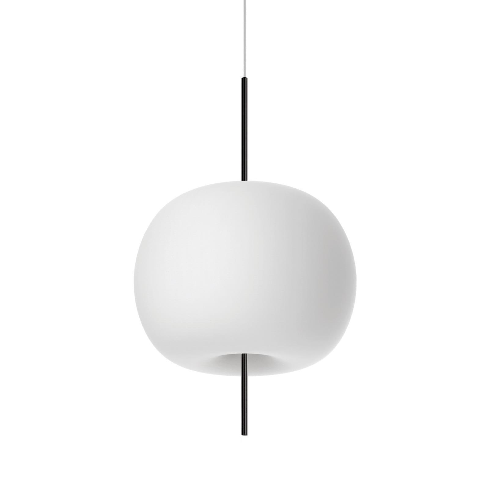 Kushi 33 Suspension Lamp LED or E27 Option (Black) - Kundalini