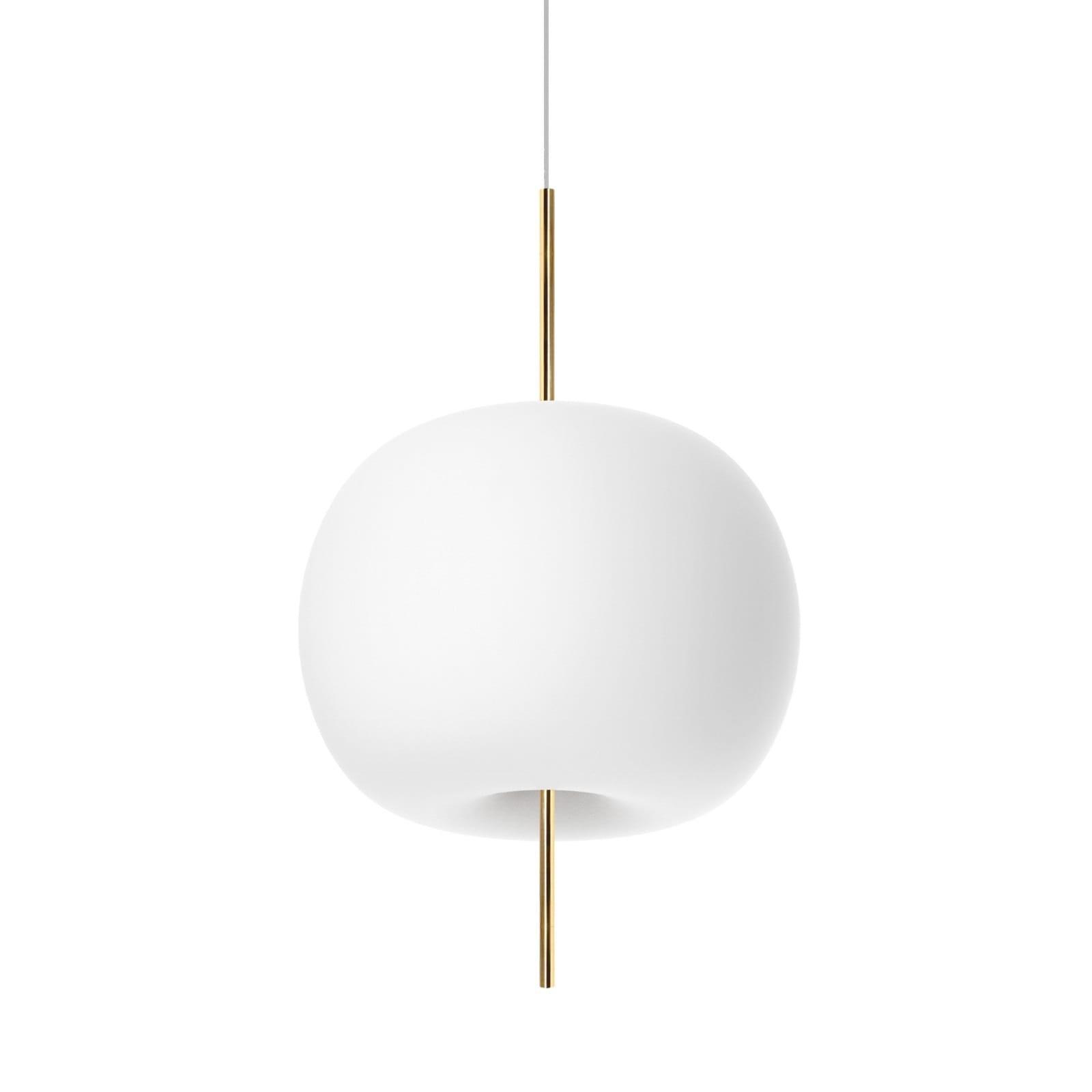 Kushi 33 Suspension Lamp LED or E27 Option (Brass) - Kundalini