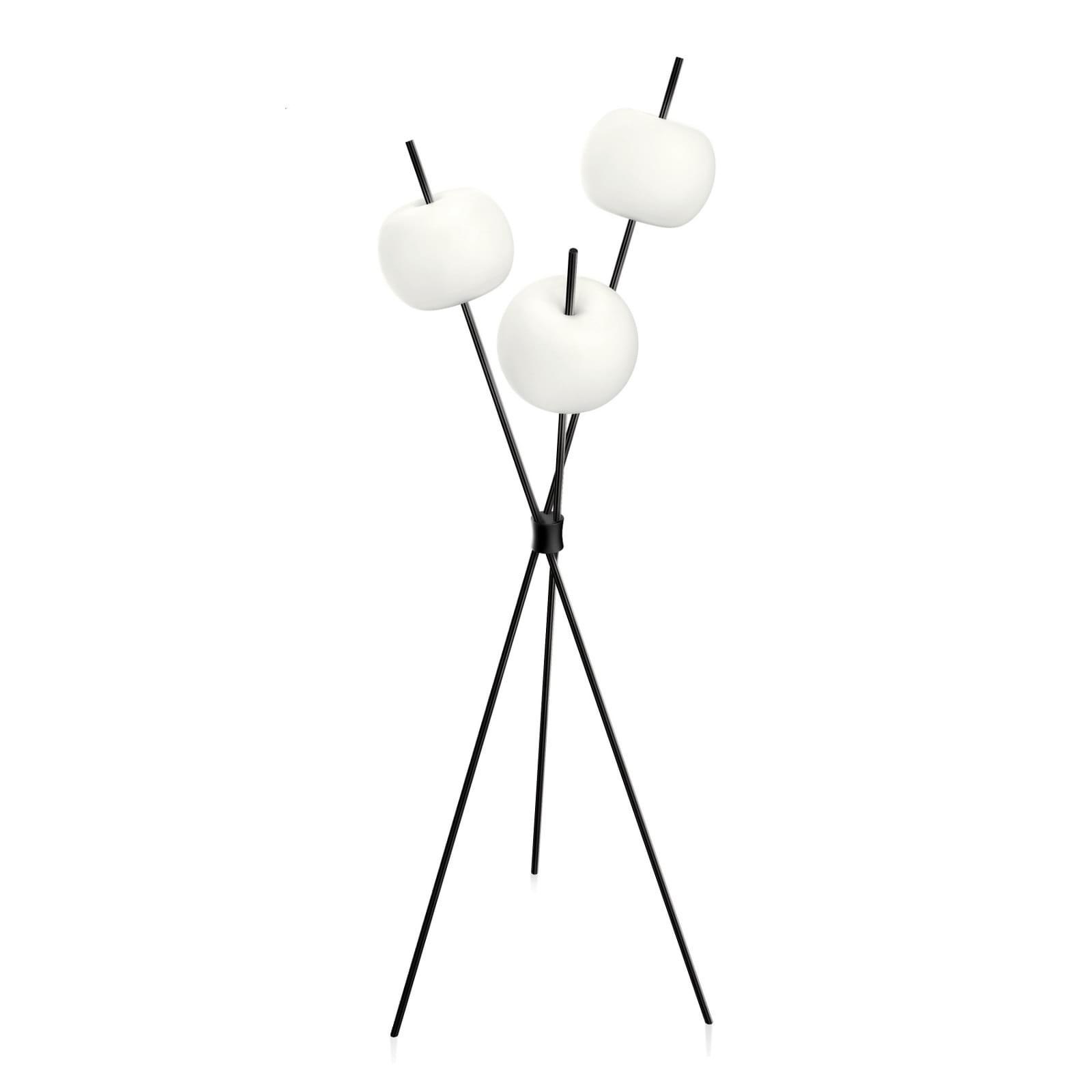 Kushi LED Floor Lamp (Black) - Kundalini