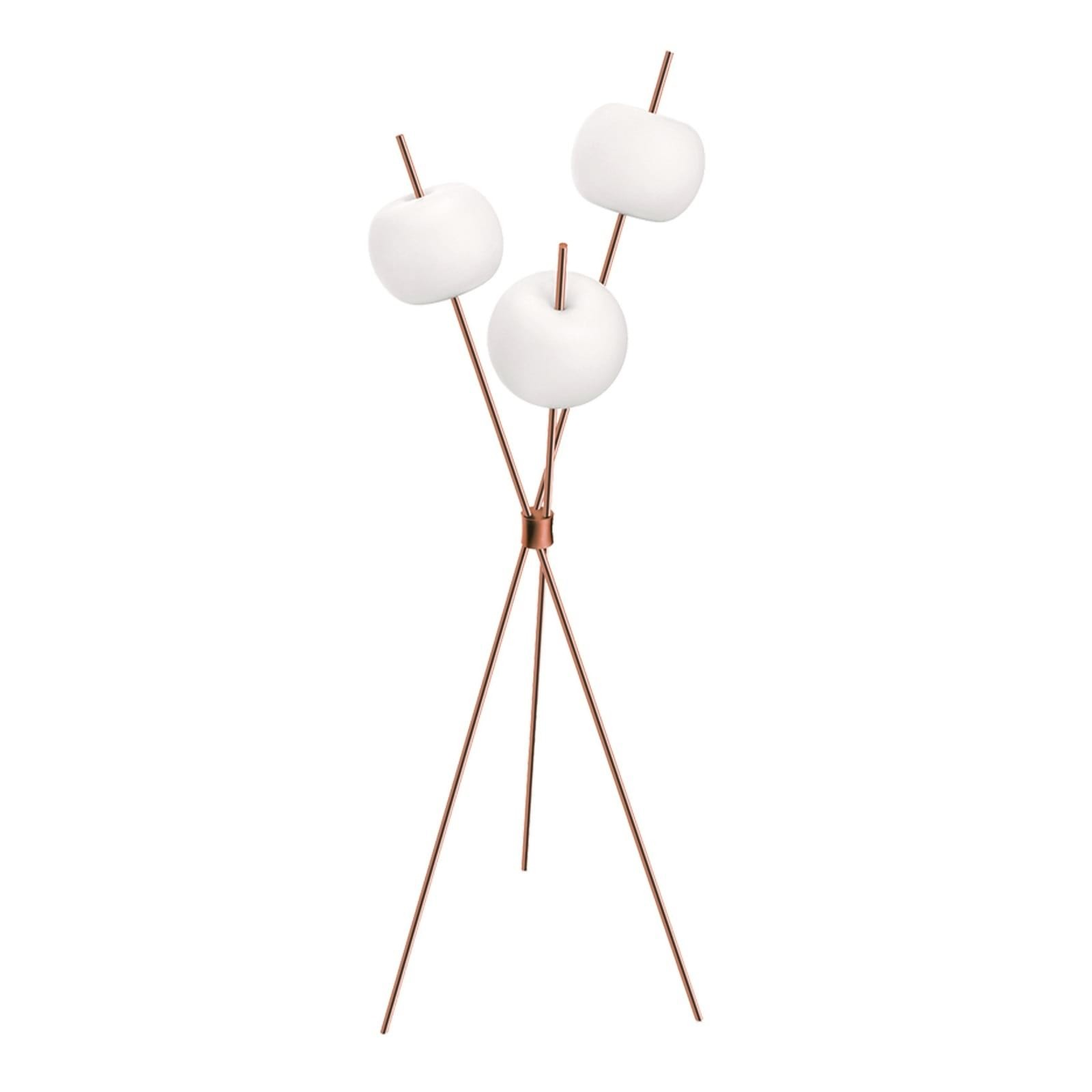 Kushi LED Floor Lamp (Copper) - Kundalini