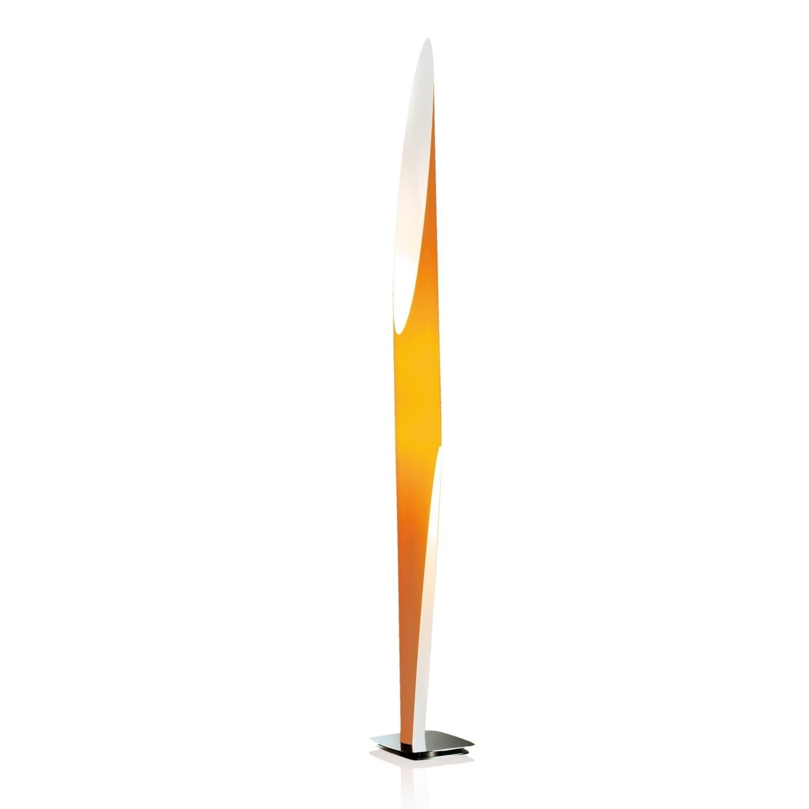 Shakti 200 Floor Lamp (Orange) - Kundalini