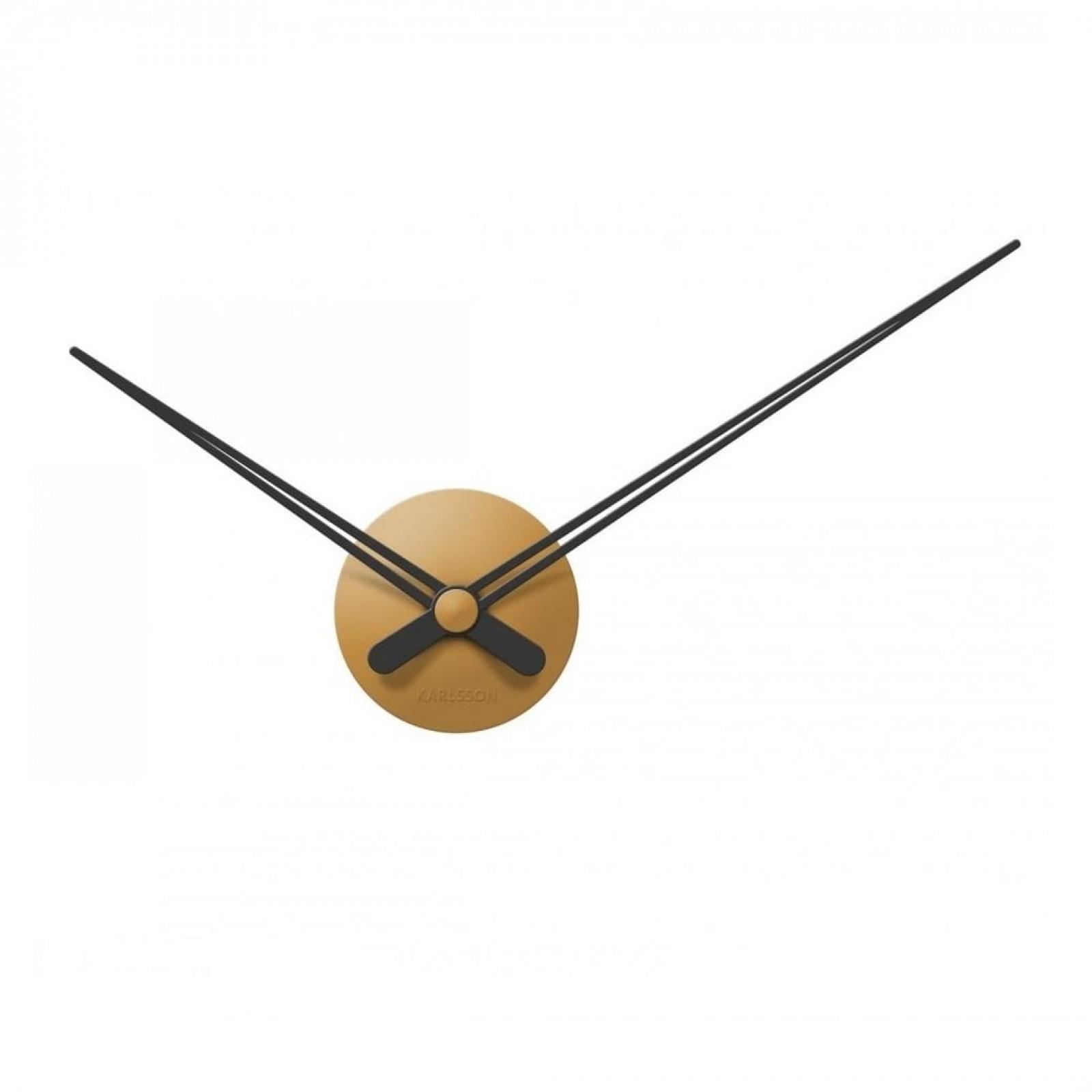 LBT Mini Sharp Wall Clock (Caramel Brown) - Karlsson