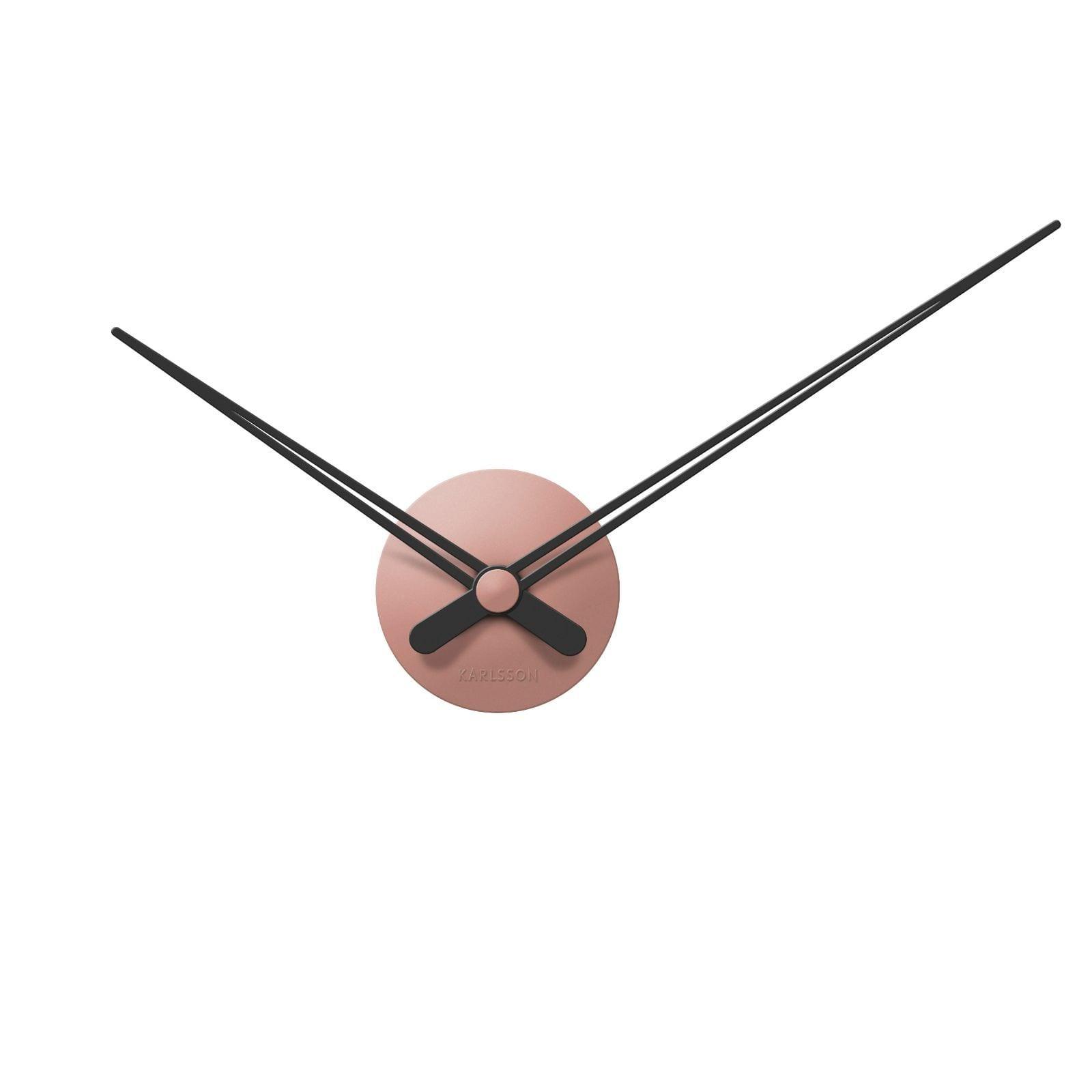 LBT Mini Sharp Wall Clock (Pink) - Karlsson