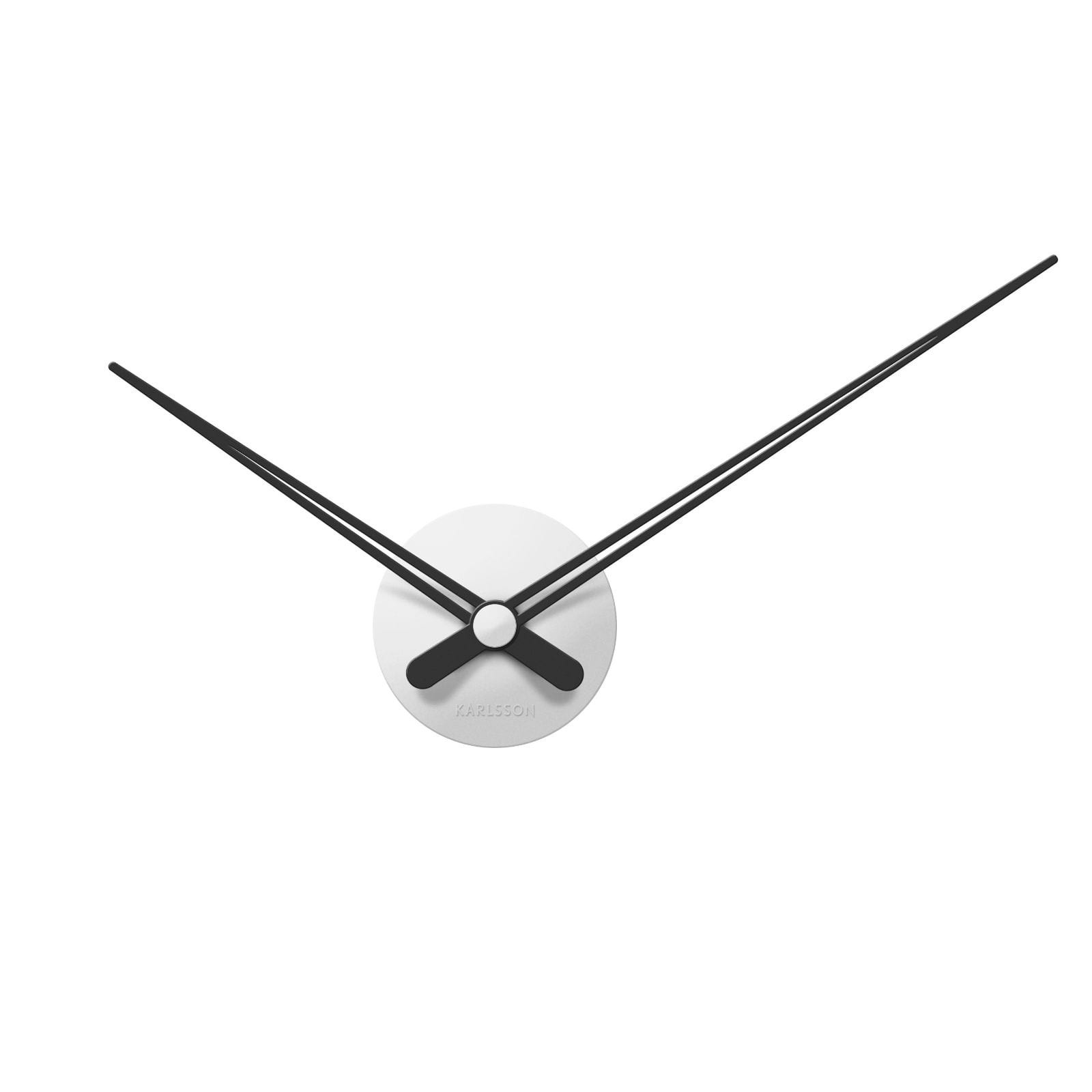 LBT Mini Sharp Wall Clock (White) - Karlsson
