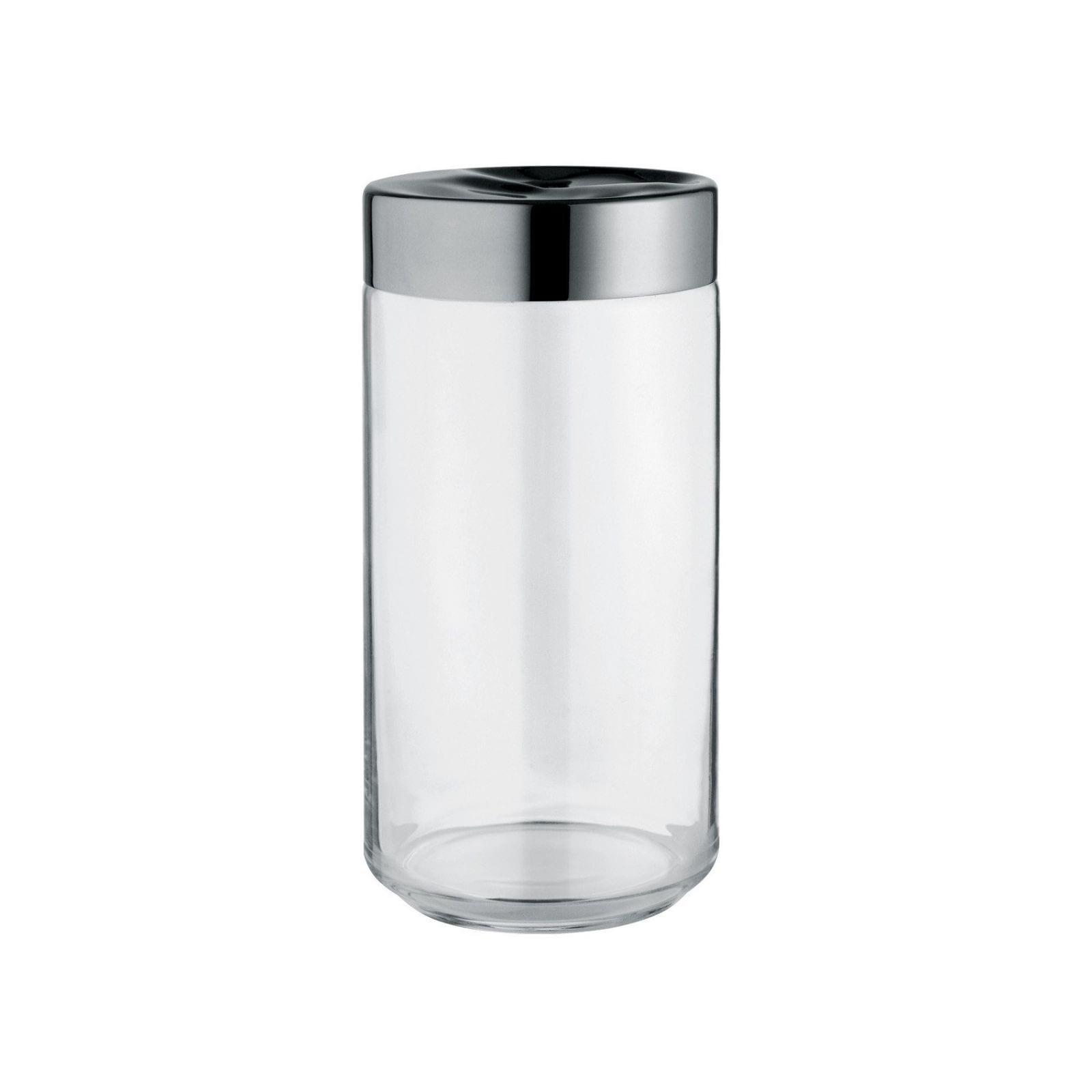 Julieta Jar 1500ml (Glass / Steel) – Alessi