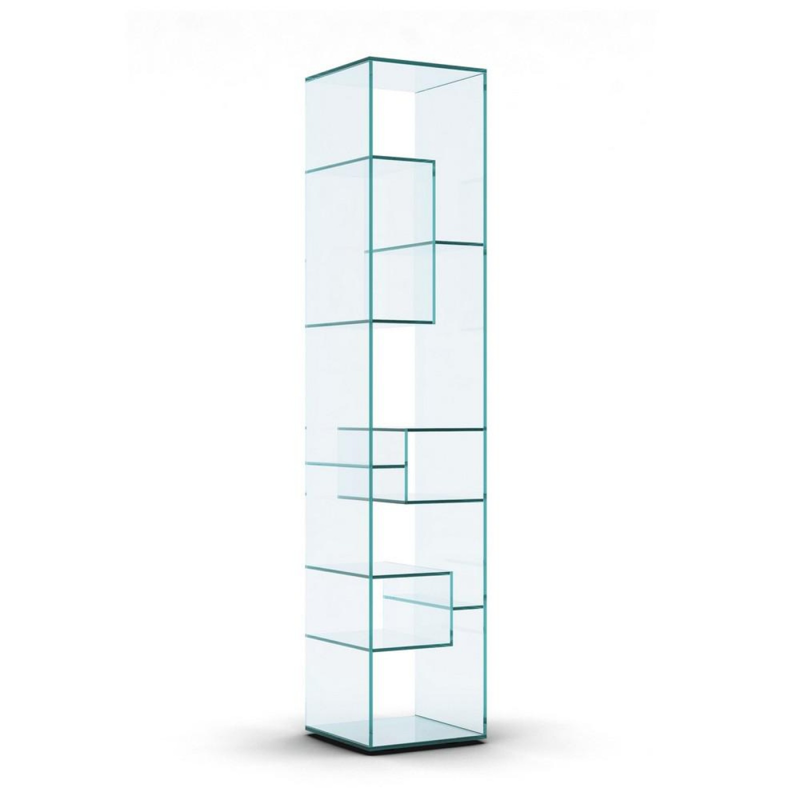 Liber B Glass Display Unit - Tonelli Design