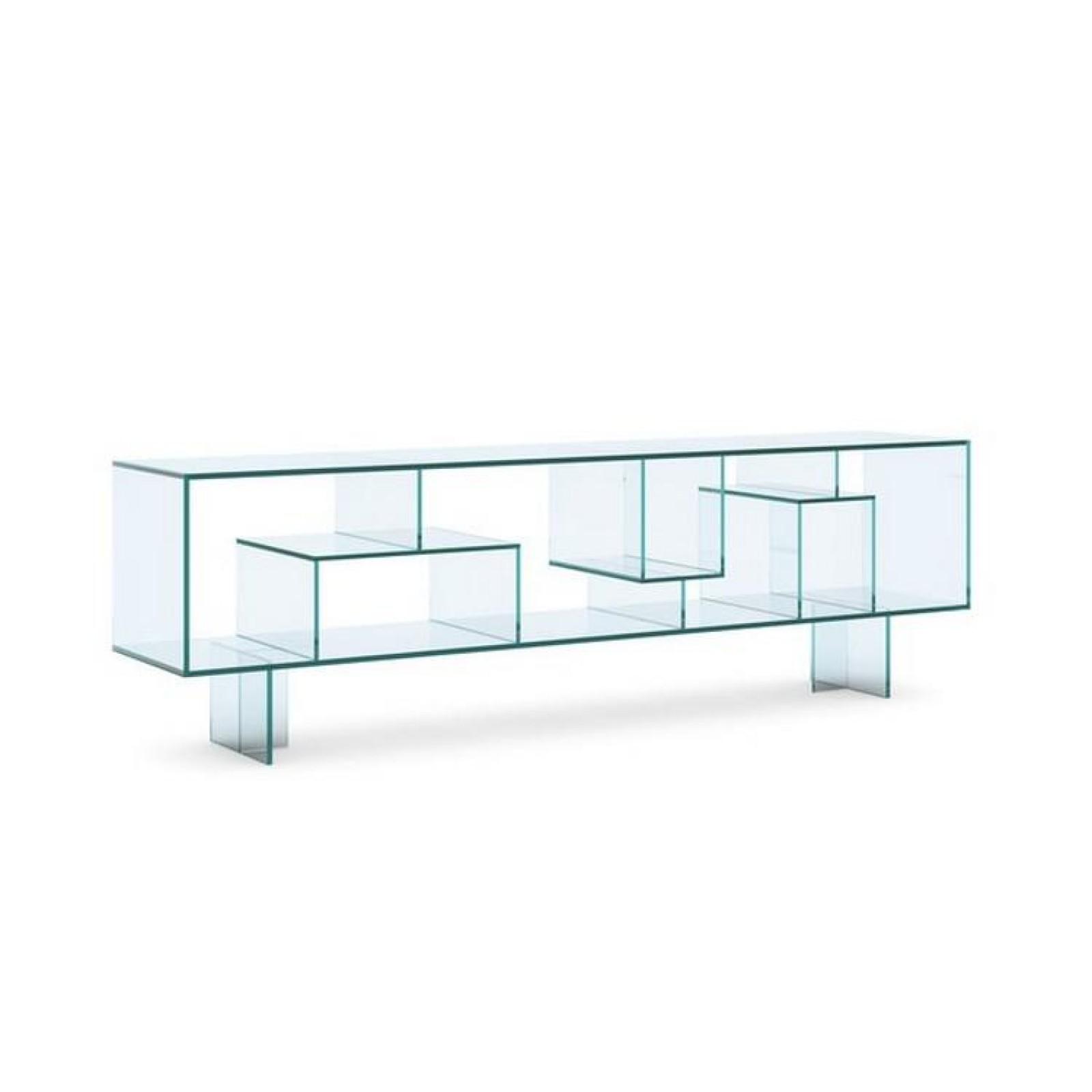 Liber M Glass Sideboard / Display Unit - Tonelli Design