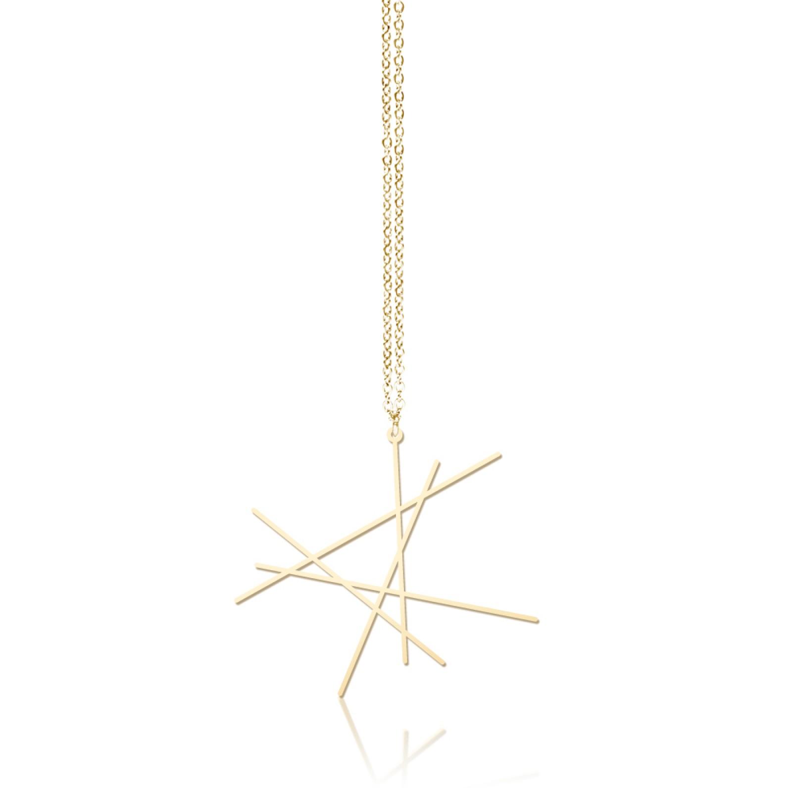 Line Pendant S (Gold) - Moorigin