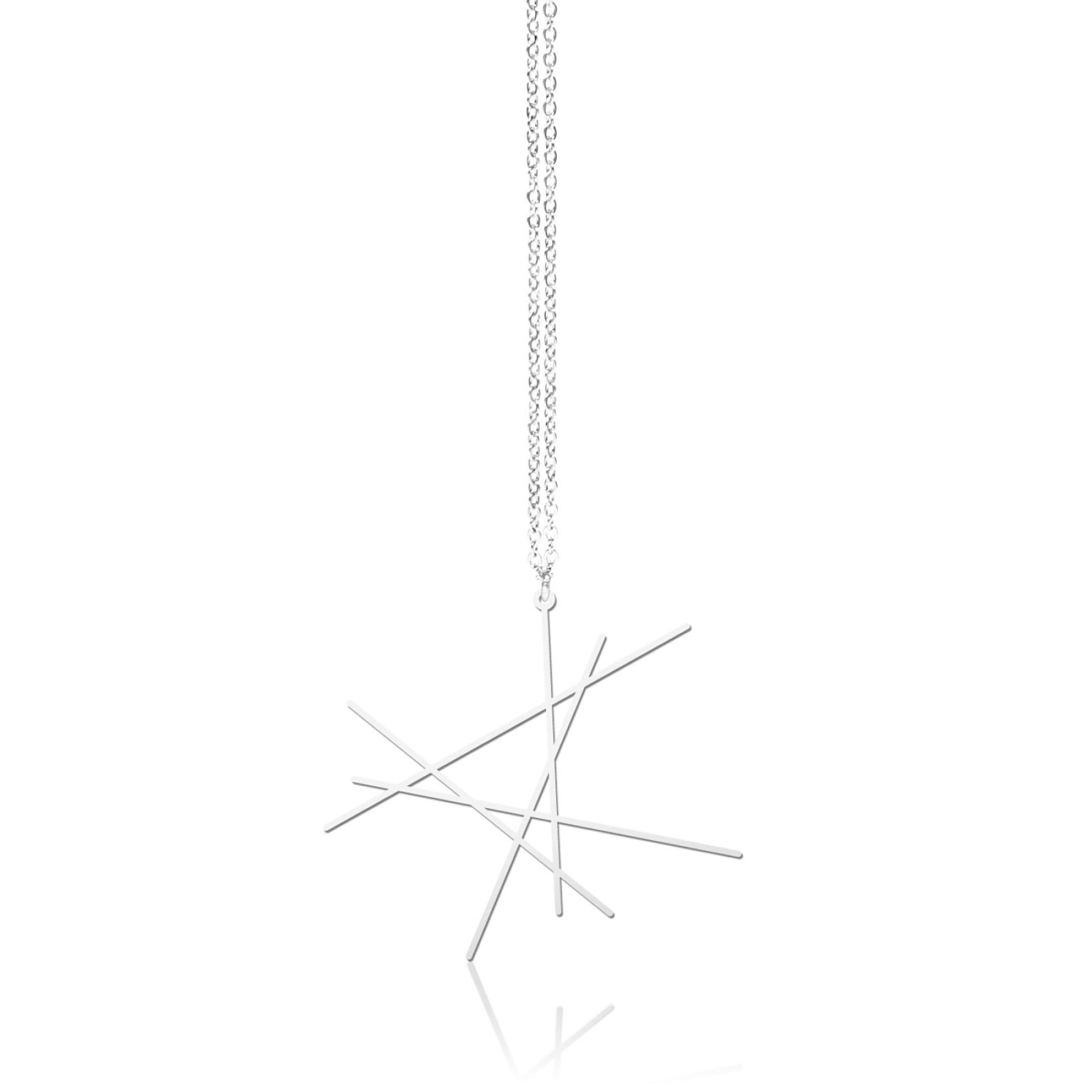 Line Pendant S (Silver) - Moorigin