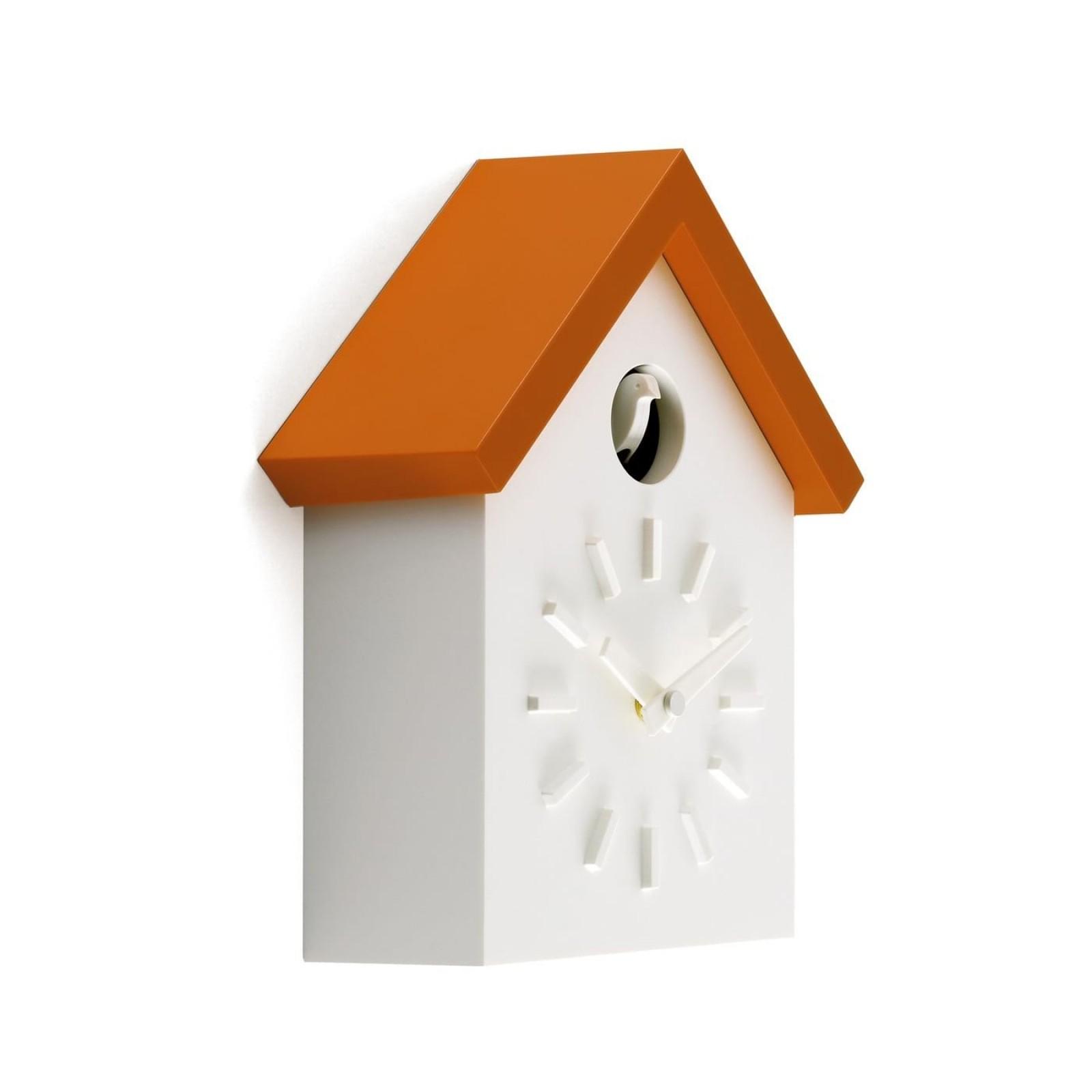 Cu-Clock Wall Clock (Orange) - Magis
