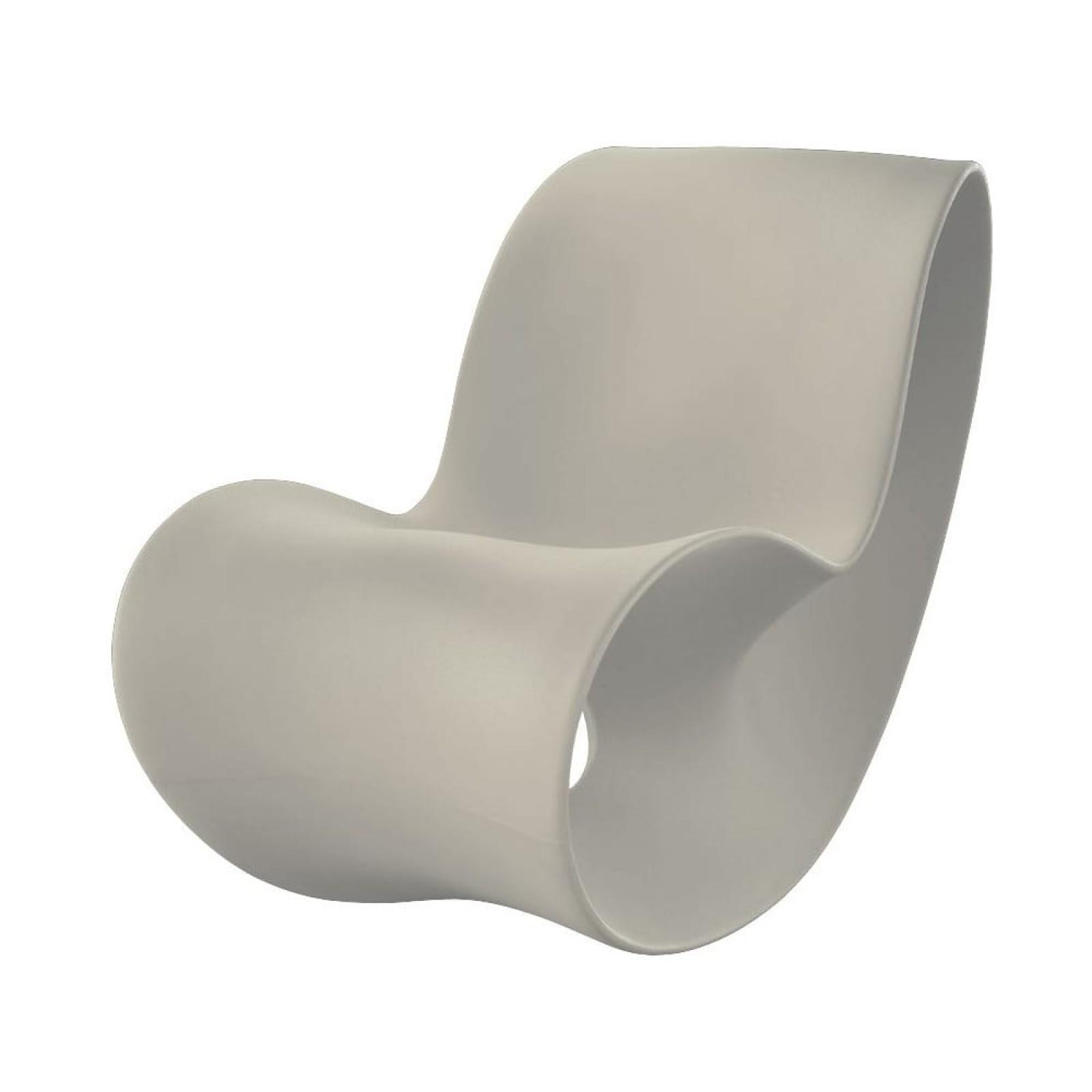 Voido Rocking Chair (Light Grey) - Magis