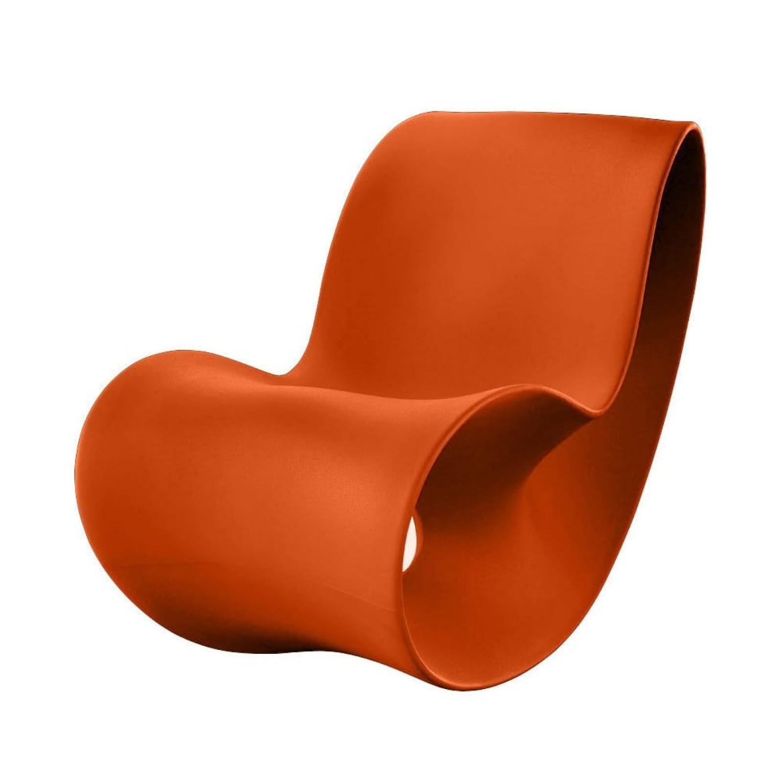 Voido Rocking Chair (Orange) - Magis