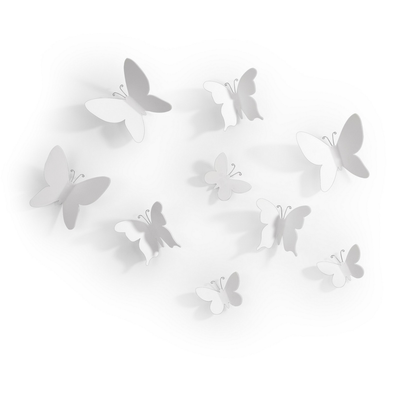 Mariposa Wall Decor (White) - Umbra
