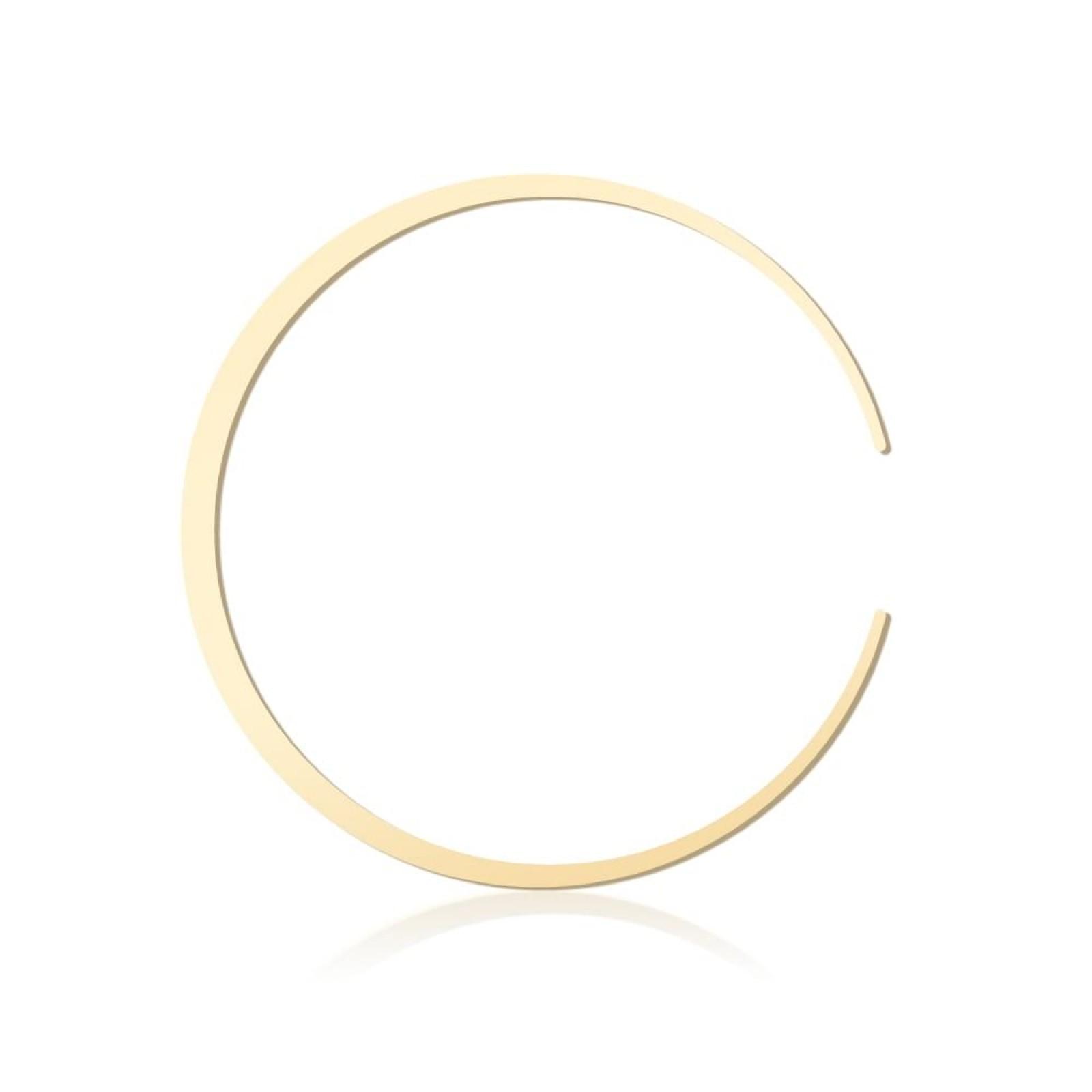 Moonlight Bangle 60mm Gold - Moorigin