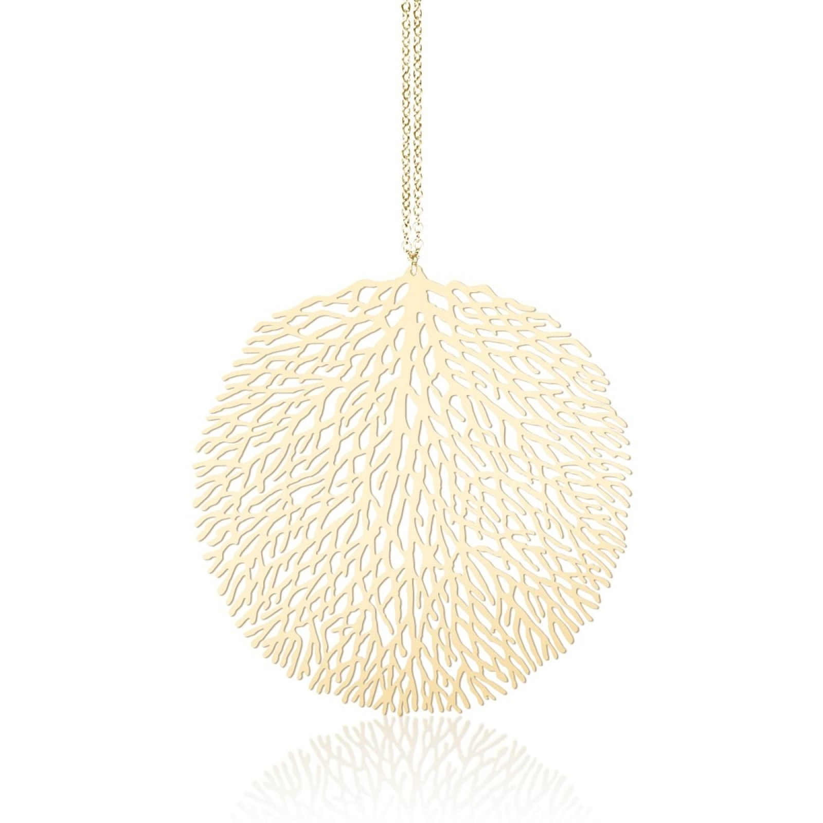 Woods M Pendant (Gold) - Moorigin