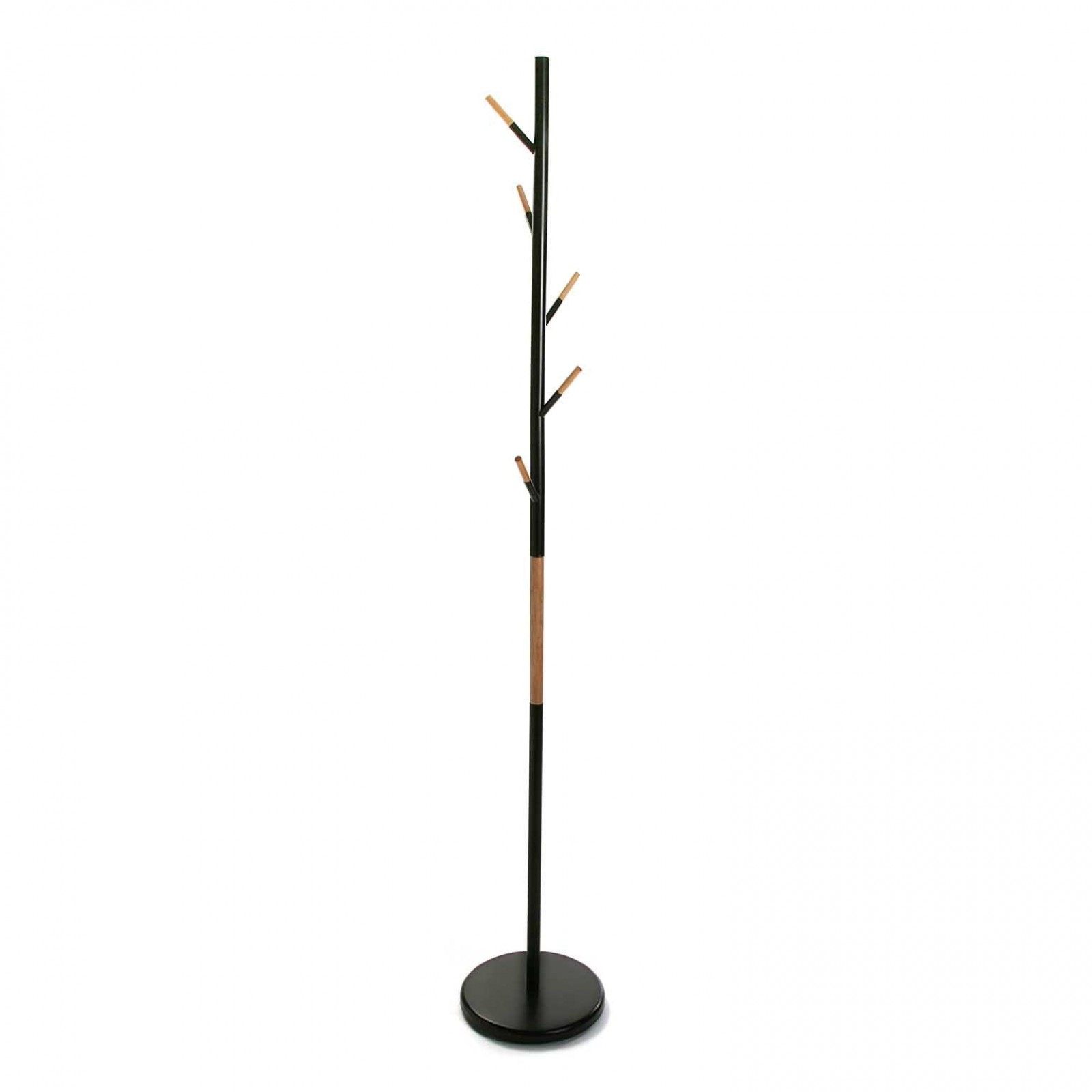 Negrito Coat Rack (Metal / Wood) - Versa