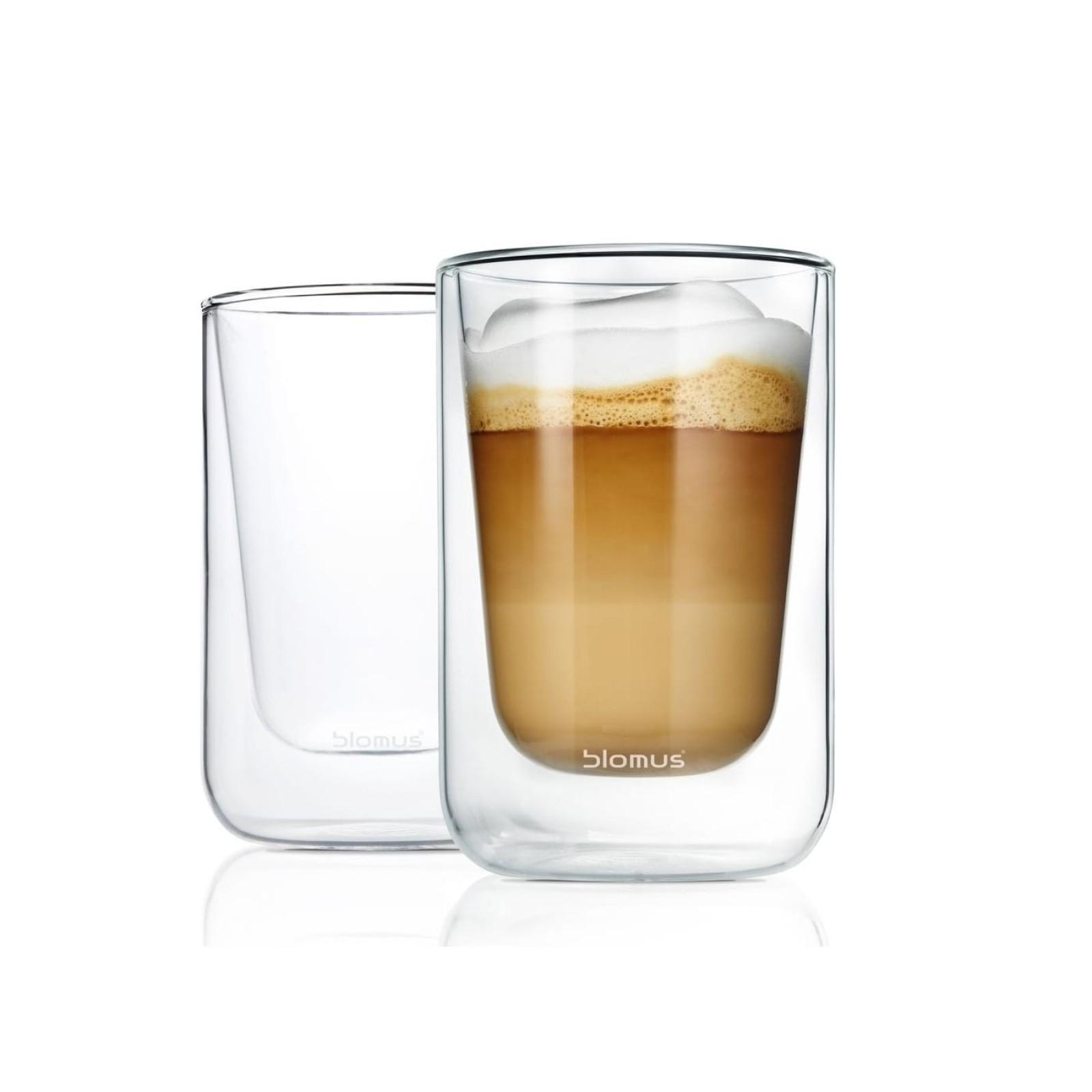 NERO Insulated Cappuccino Glasses 250ml (Set of 2) - Blomus