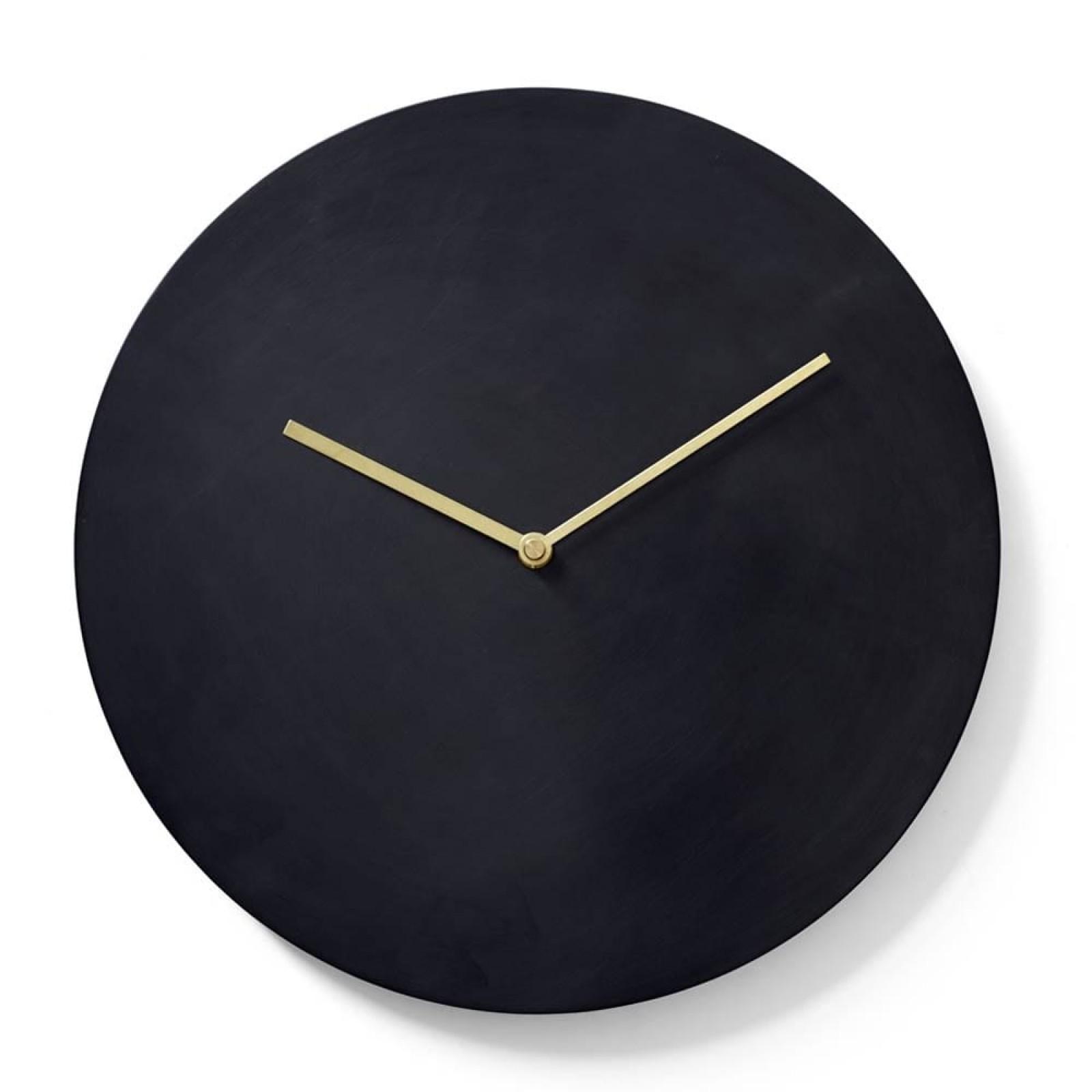 Norm Wall Clock Bronzed Brass - Menu