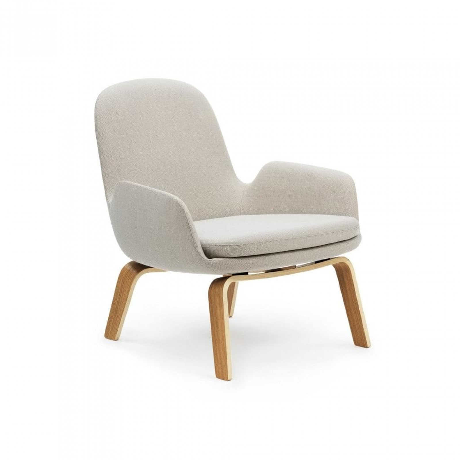 Era Lounge Chair Low (Wood) - Normann Copenhagen