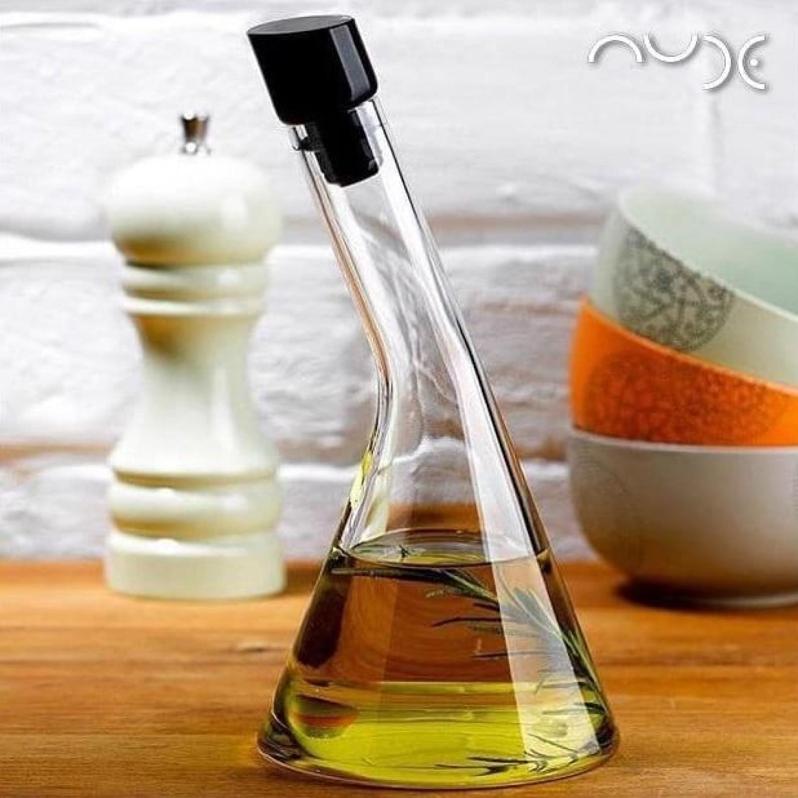 Nude Glass | Olea Oil & Vinegar Bottle | Olivela