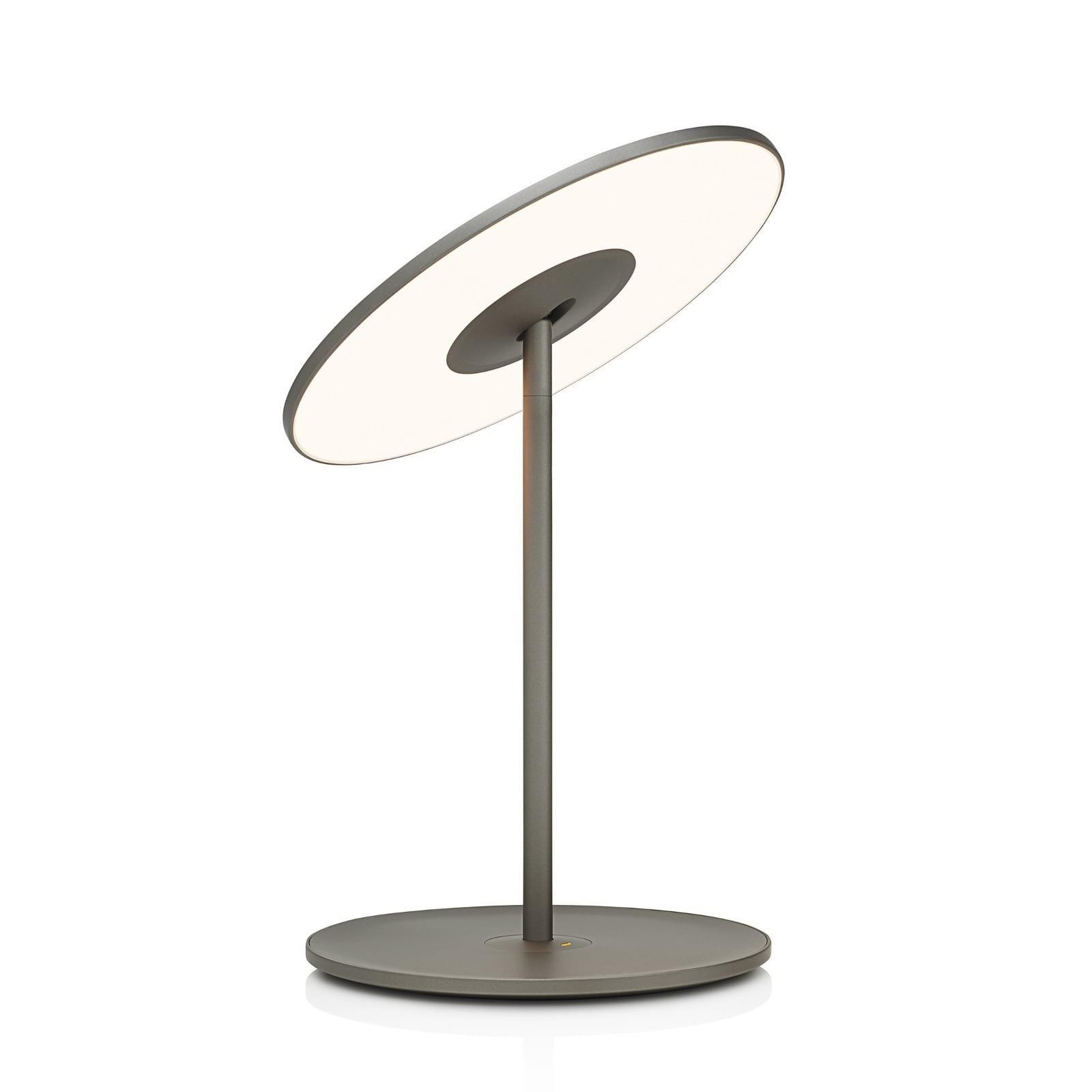 Circa Flat Panel LED Table Lamp (Graphite) - Pablo Designs