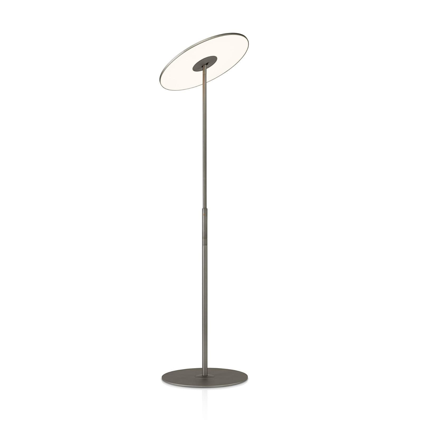 Circa Flat Panel LED Floor Lamp (Graphite) - Pablo Designs