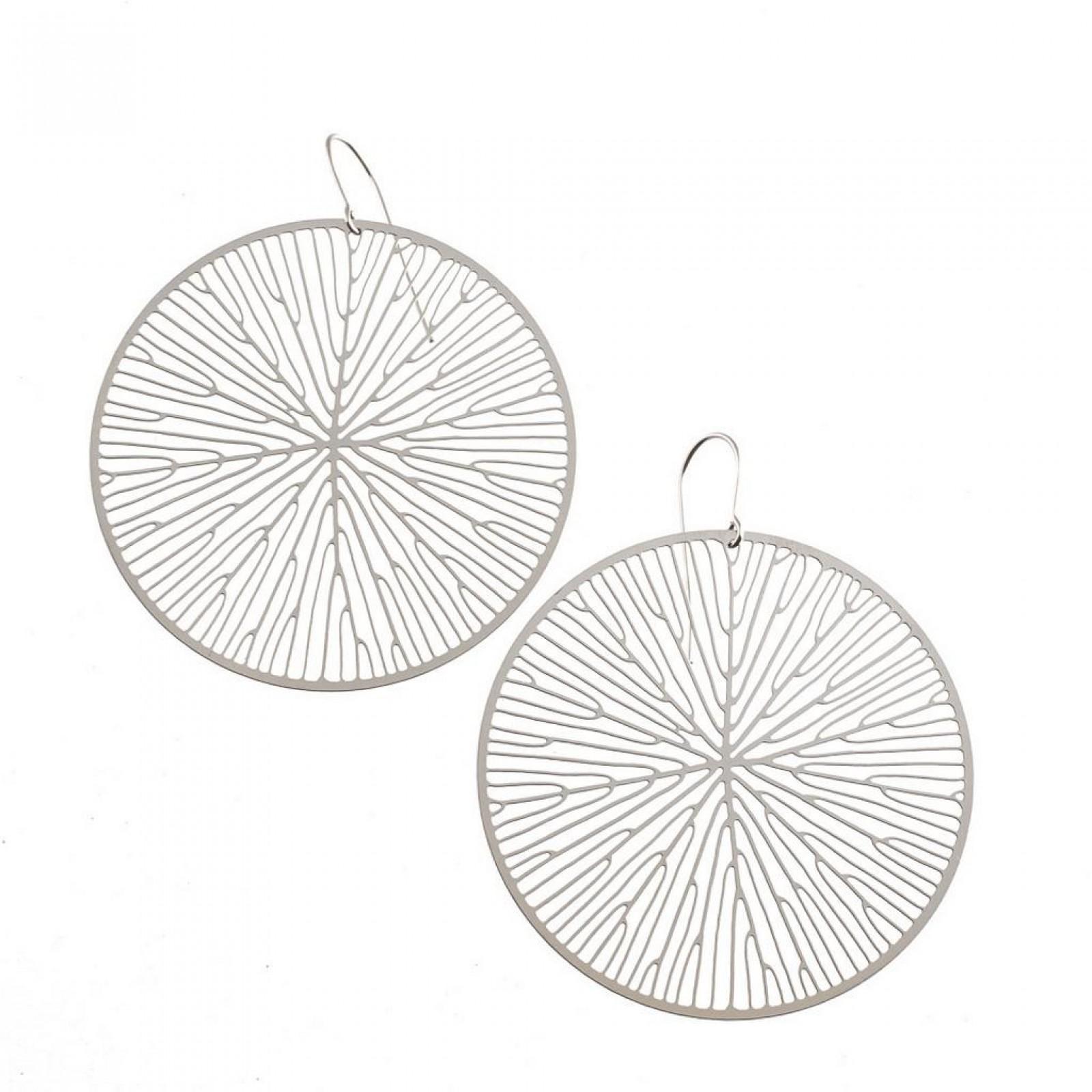 Peltate Earrings (Steel) - Nervous System