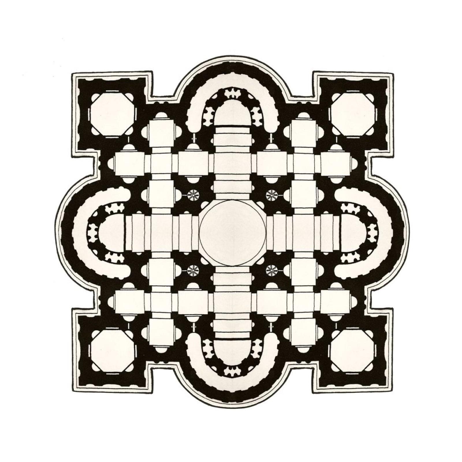 Pietro Square Rug - Mogg