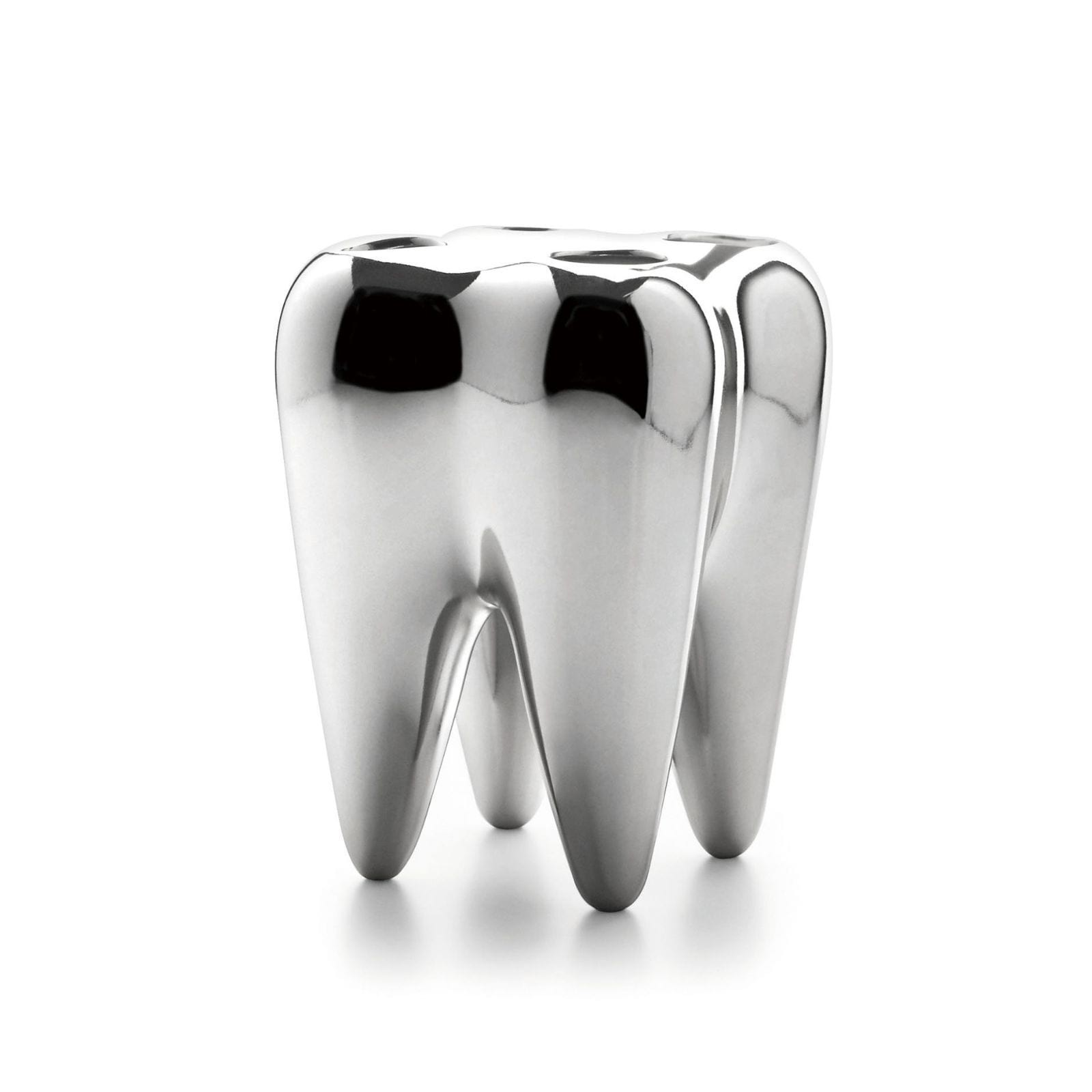 SILVER TOOTH Toothbrush Holder