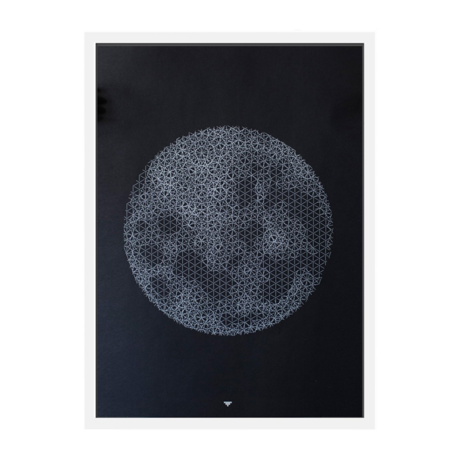 Push Moon Art Print - The Fundamental Group