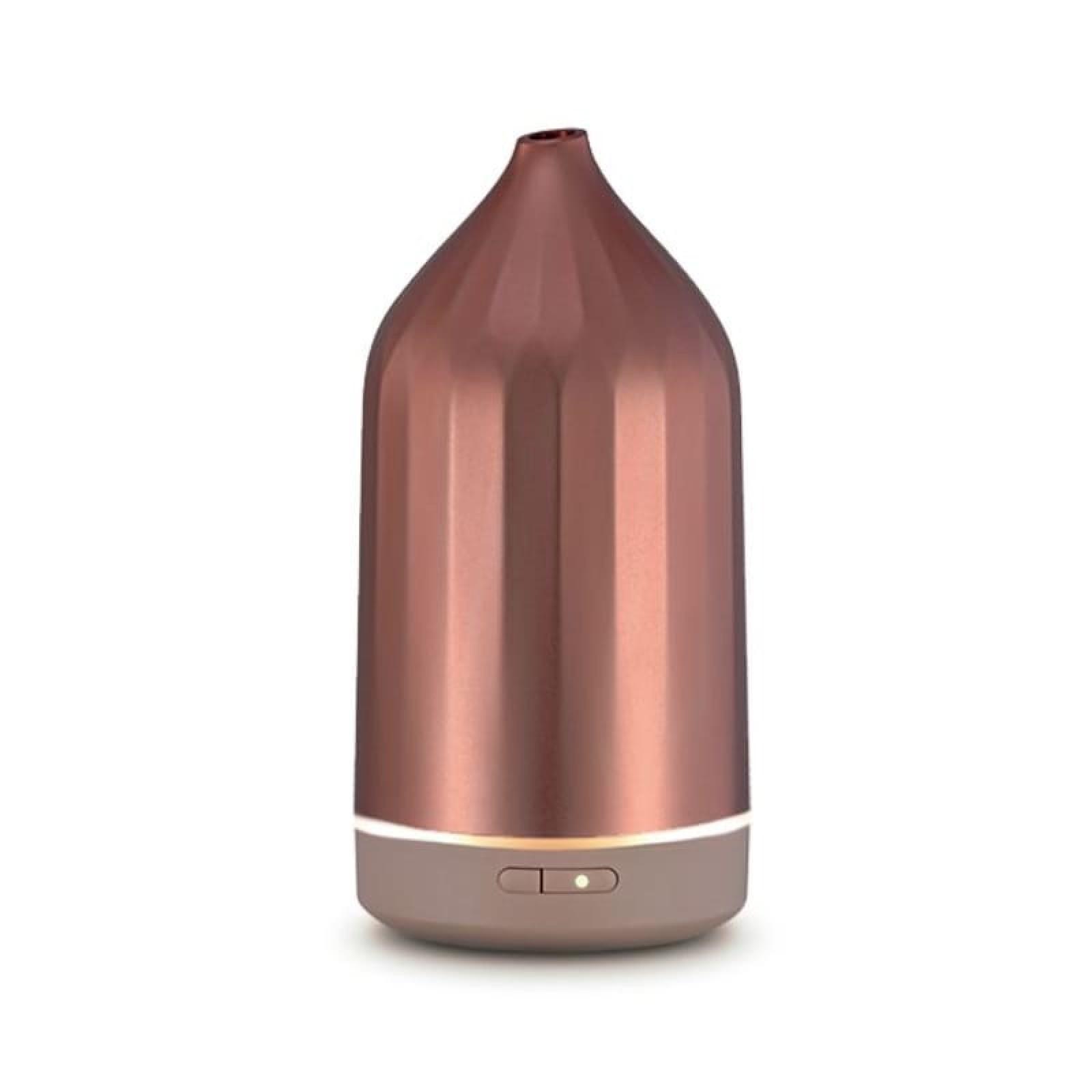 Ridge Ultrasonic Essential Oil Diffuser (Rose Gold) - Toast Living