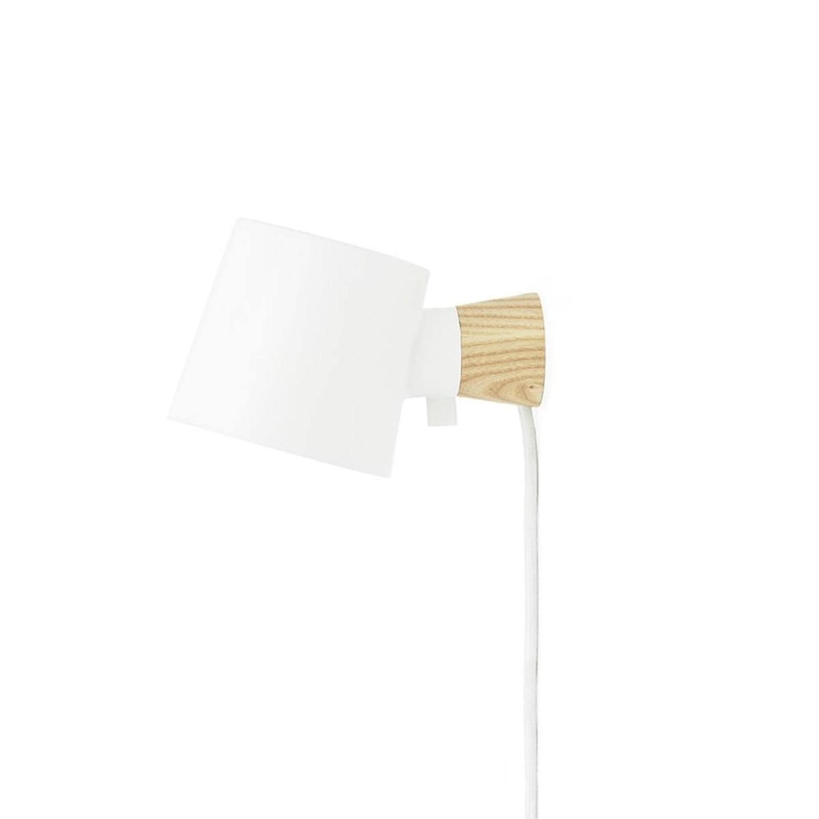 Rise Wall Lamp (White) - Normann Copenhagen