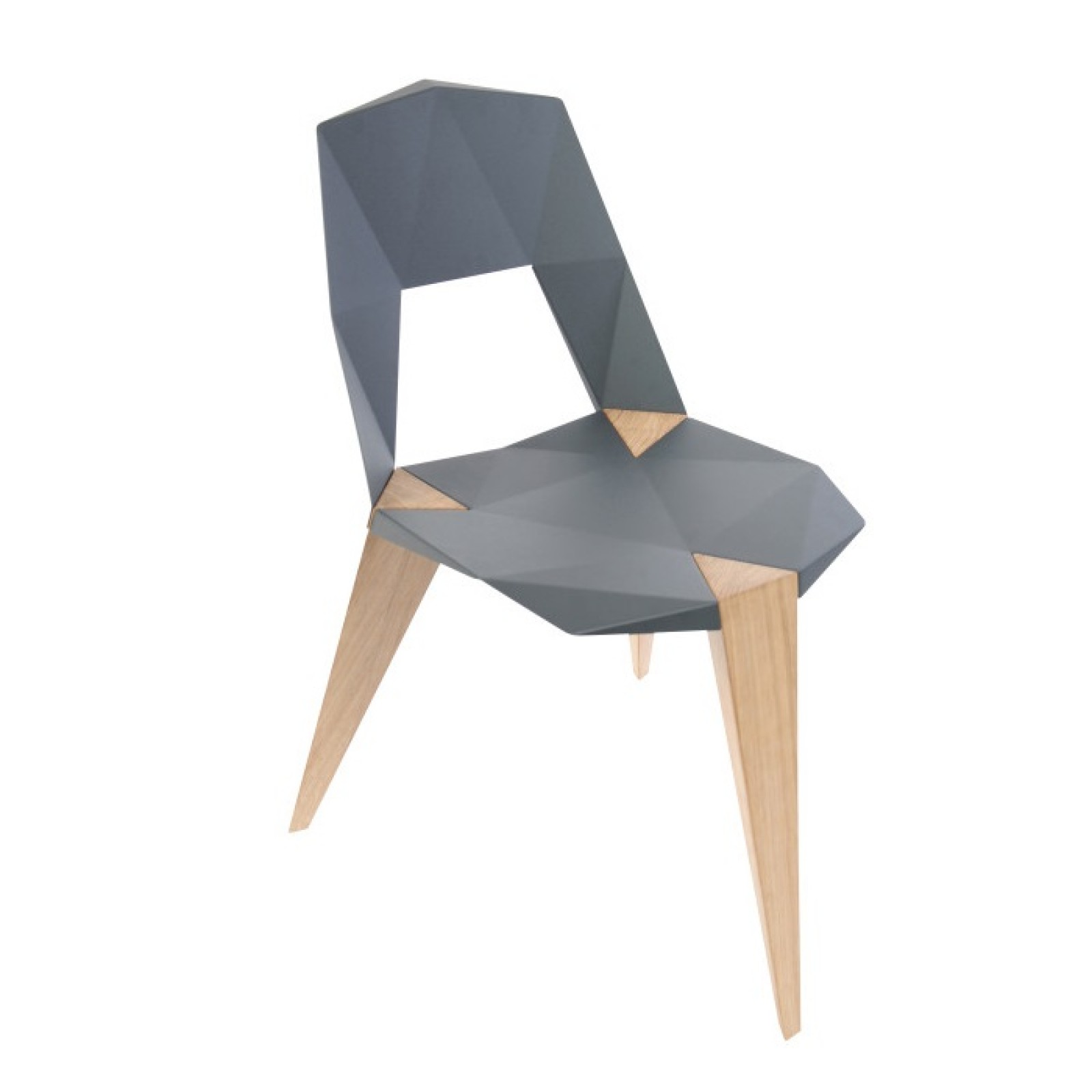 Pythagoras Chair with Oak Legs - Sander Mulder