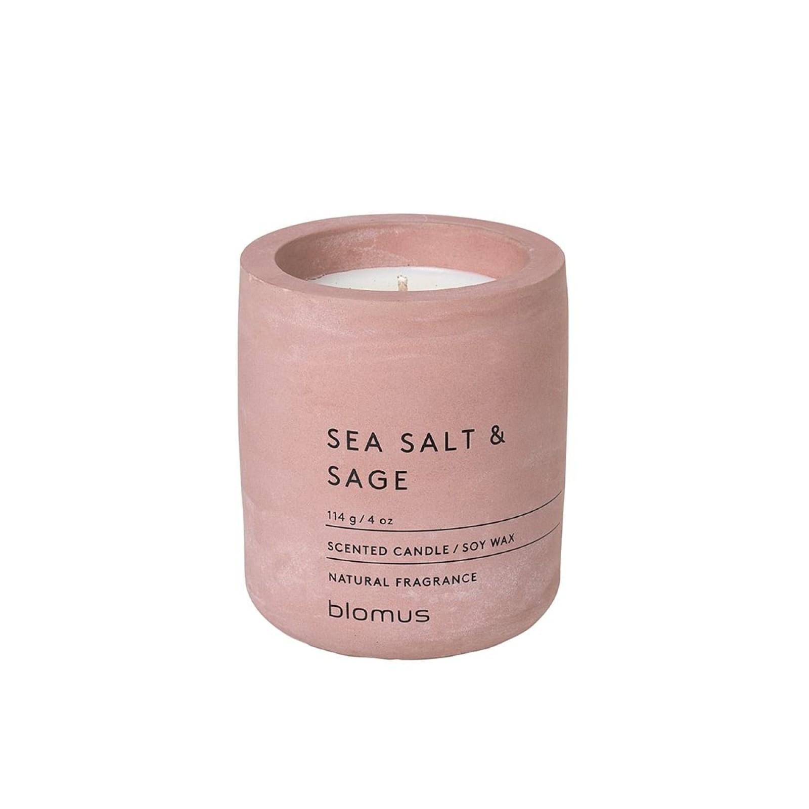 Scented Candle FRAGA S Sea Salt & Sage - Blomus