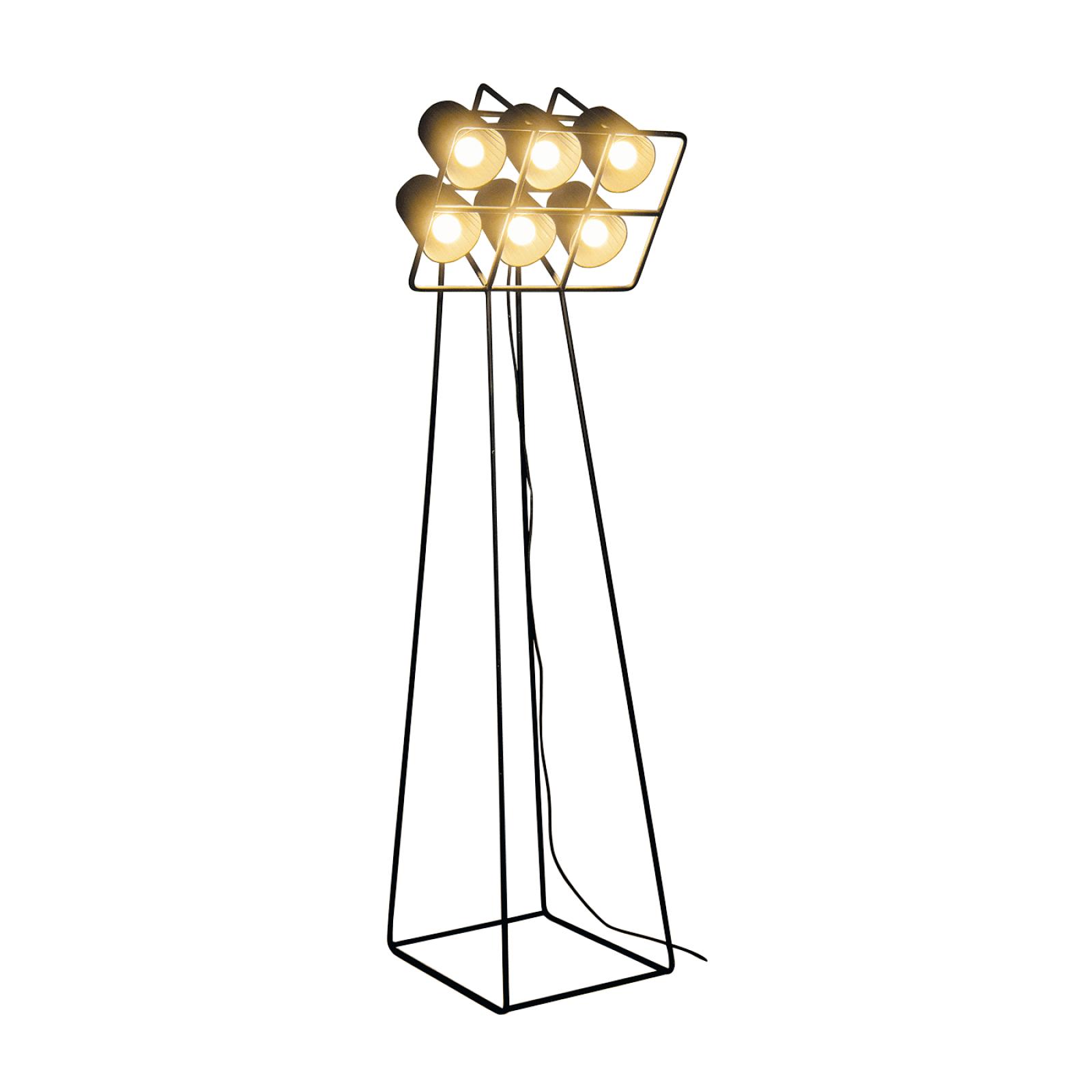Multilamp Football Floor Lamp Black - Seletti