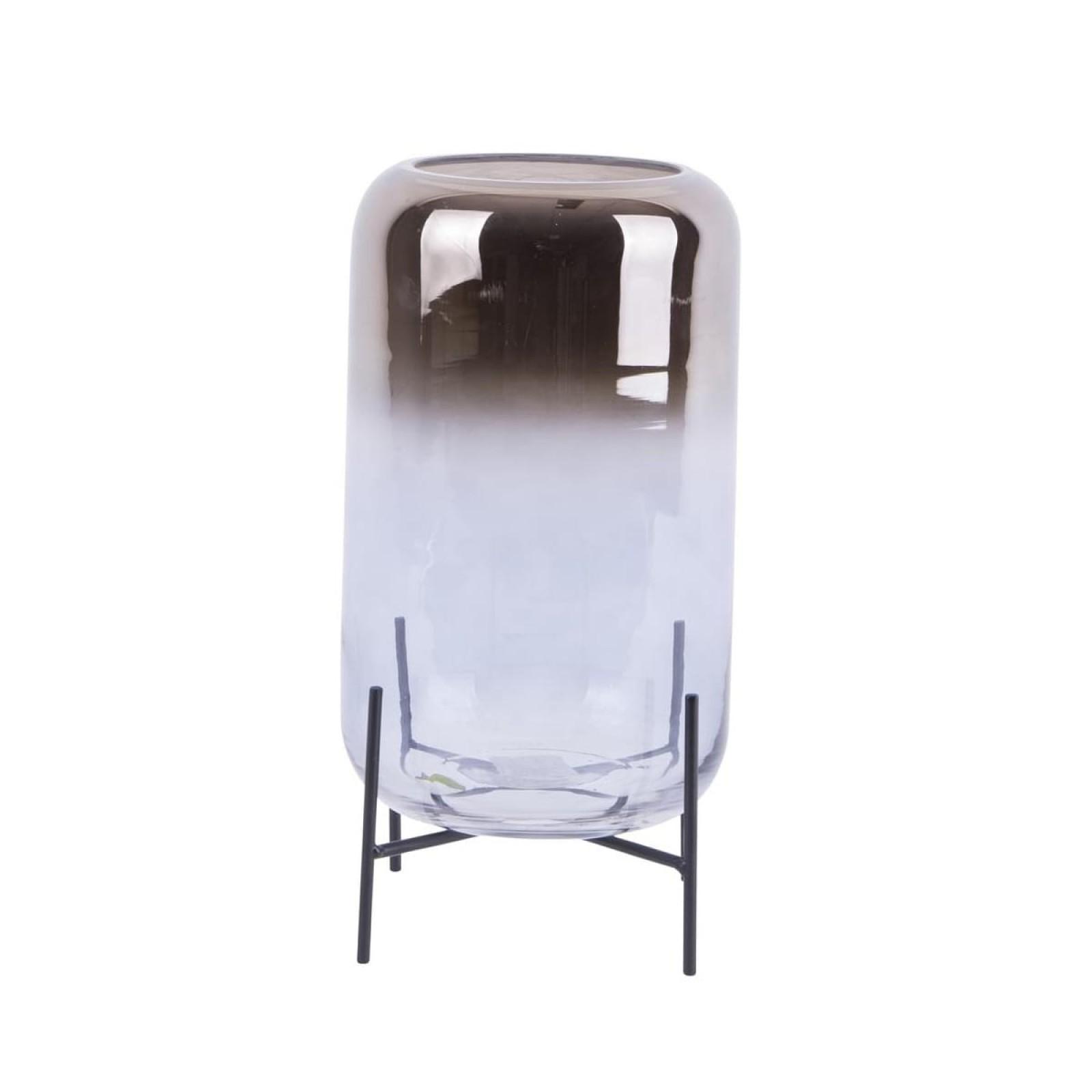 Silver Fade Vase & Candleholder (Large) - Present Time