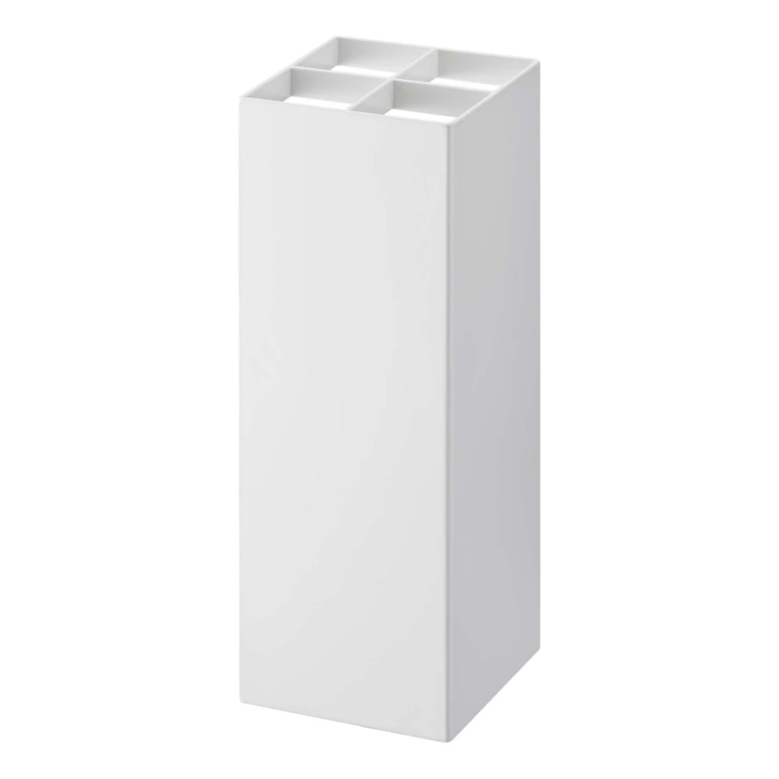 Smart Adjustable Umbrella Stand (White) - Yamazaki