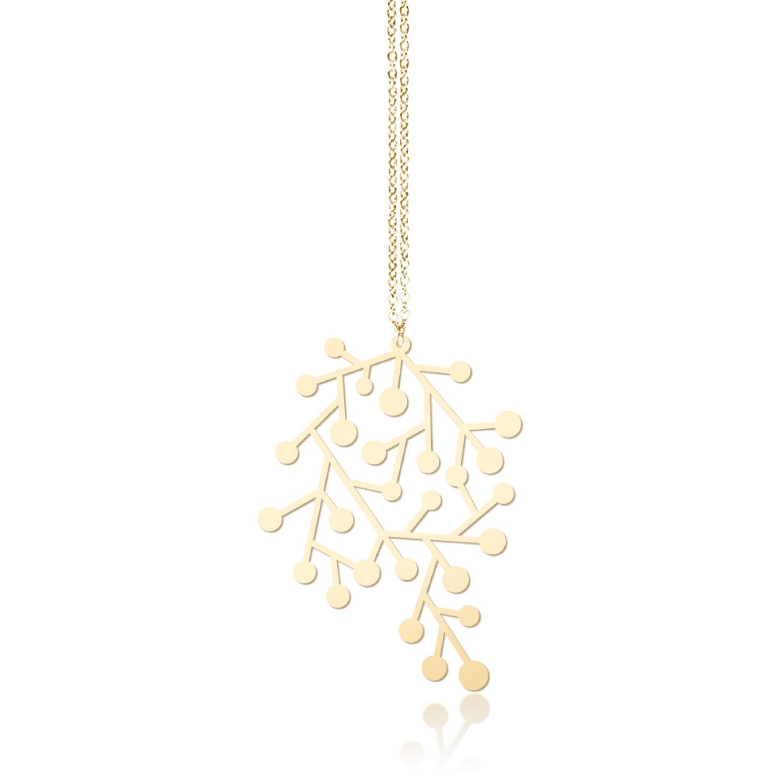 Snow Days Pendant S (Gold) - Moorigin