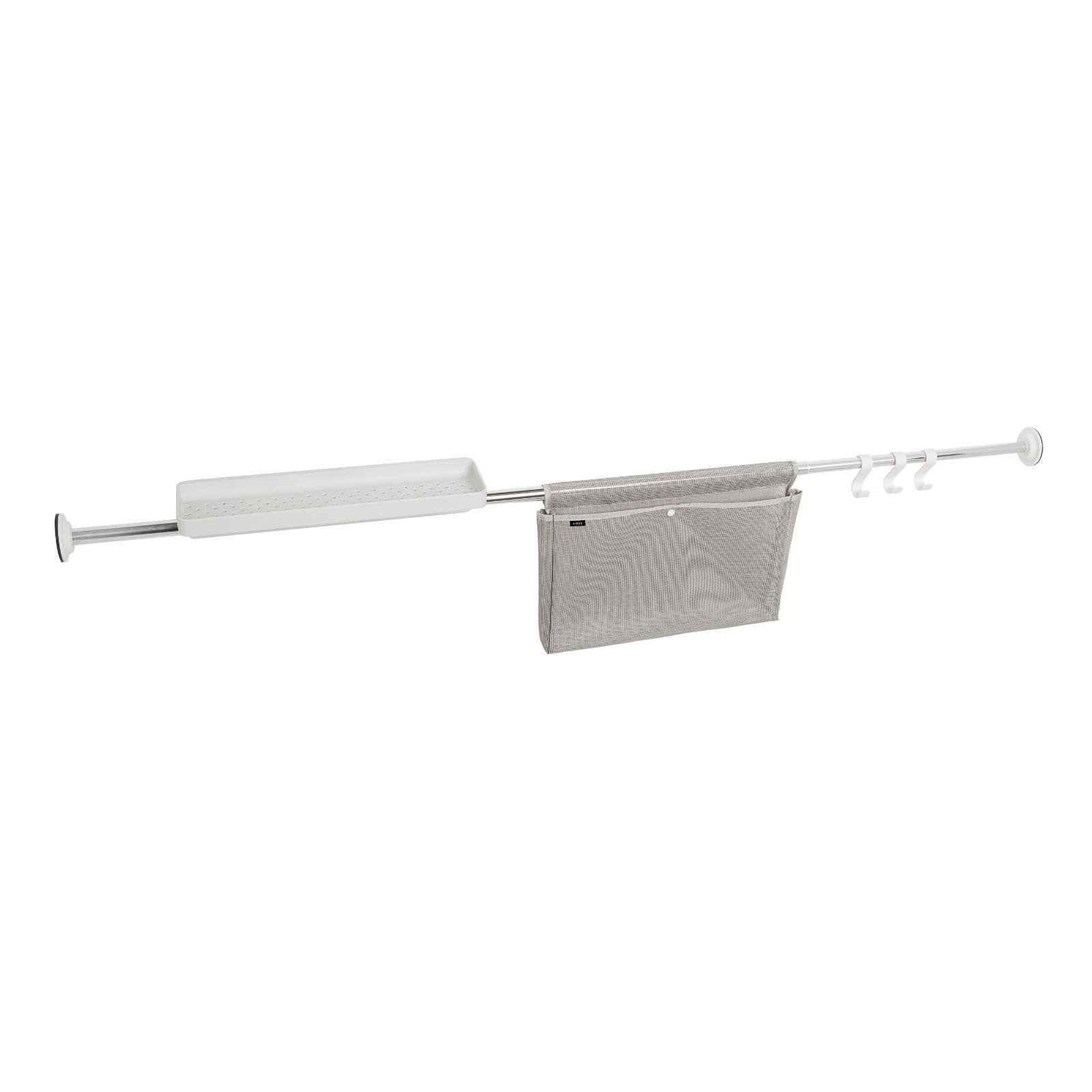 Sure-Lock Tension Storage Rod (Chrome) - Umbra