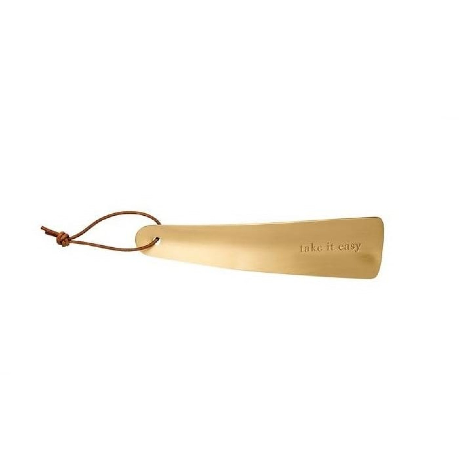 TAKE IT EASY ShoeHorn (Brass) - Raeder