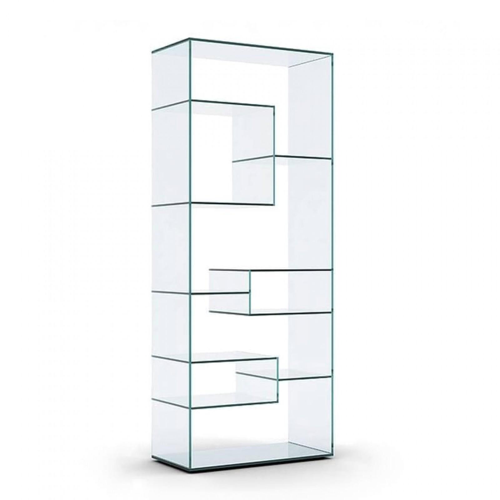 Liber A Glass Display Unit - Tonelli Design