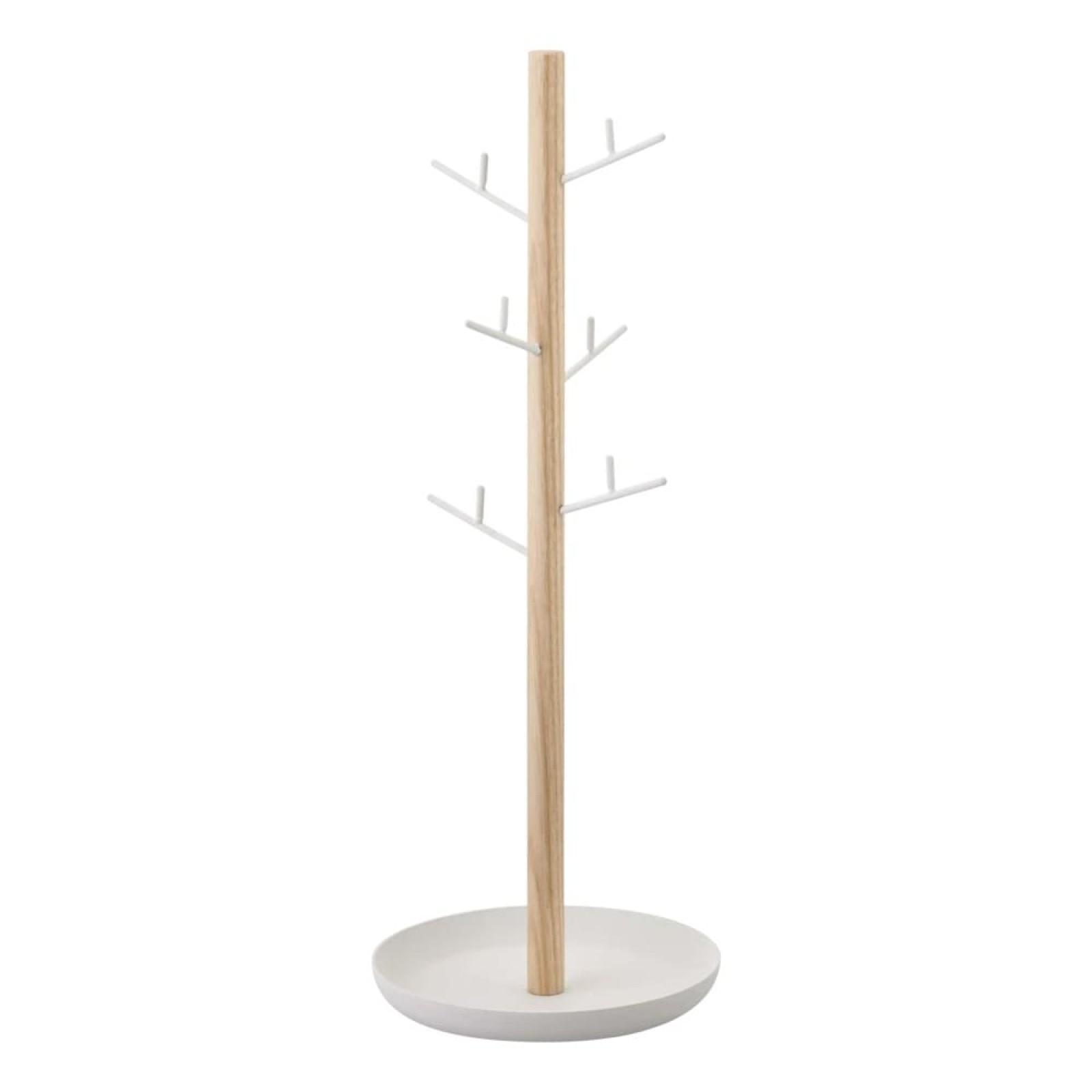 Tree Accessory Stand (White/ Ash) - Yamazaki