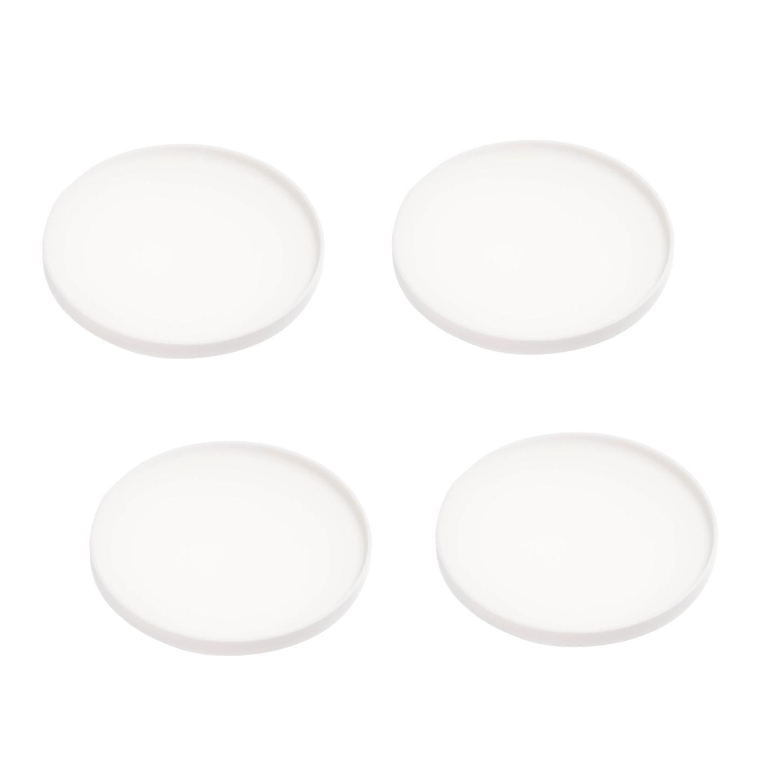 Tower Silicone White Coasters (Set of 4) - Yamazaki