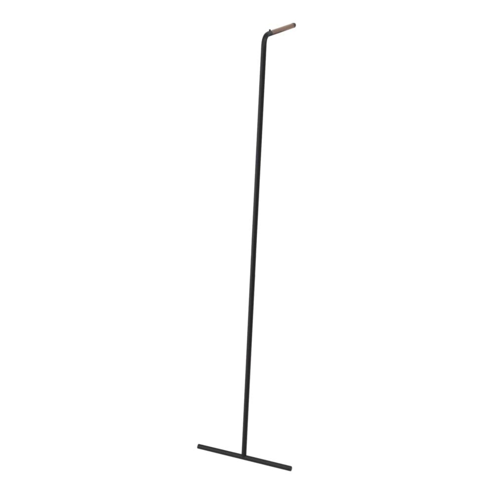 Tower Slim Leaning Coat Rack (Black) - Yamazaki