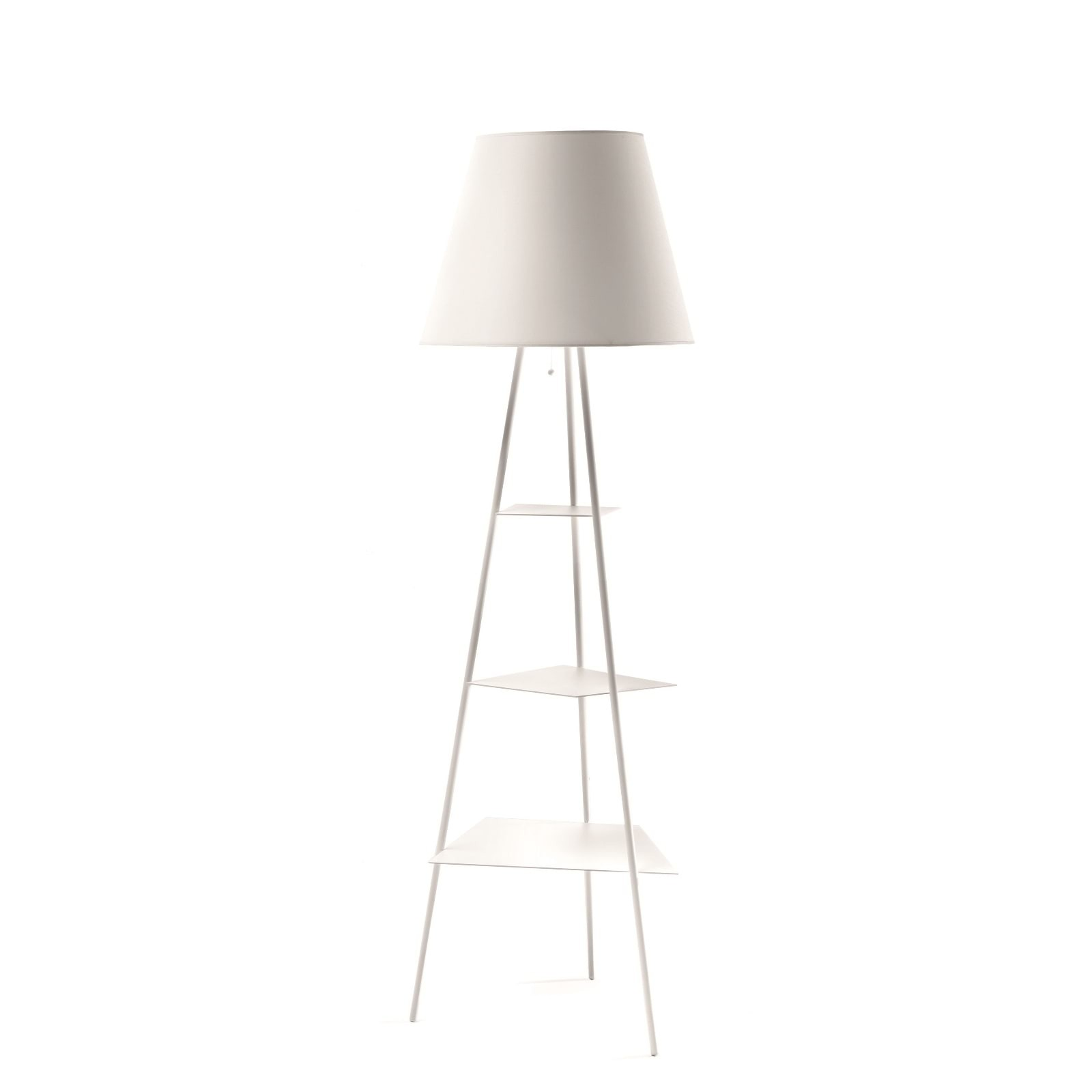 Tri.Be.Ca Floor Lamp (White) - Mogg
