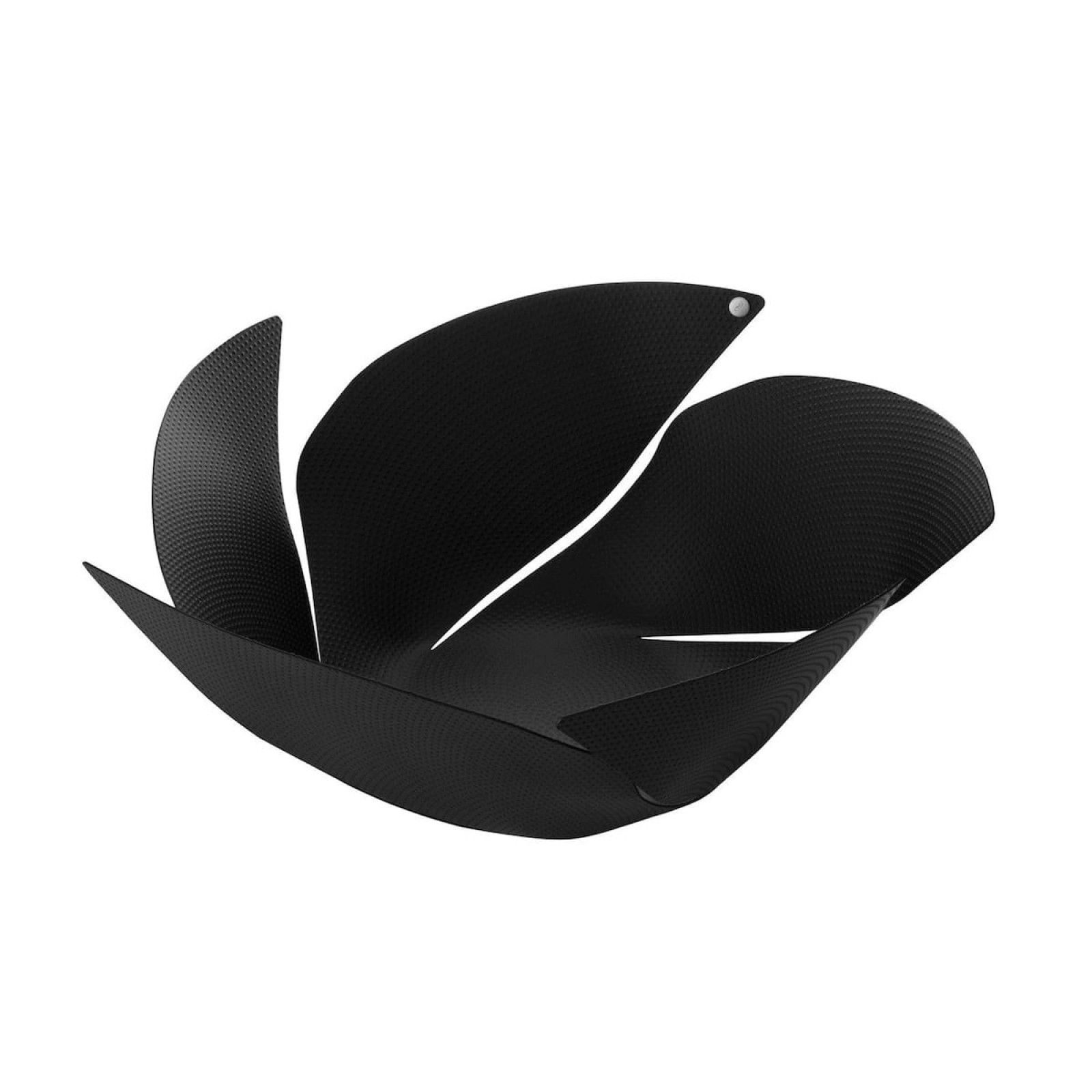 Twist Again Fruit Holder with Relief Decoration (Black) - Alessi